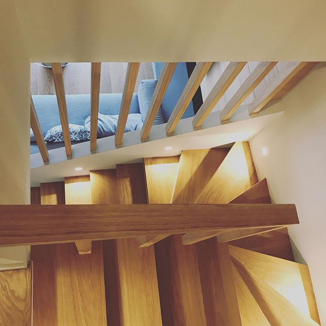 Our project in Greece is completed!! Taking prep photos before the photo shoot and playing with light and shapes! So excited to share more! #studiofay #interiordesign #staircase @studiofay