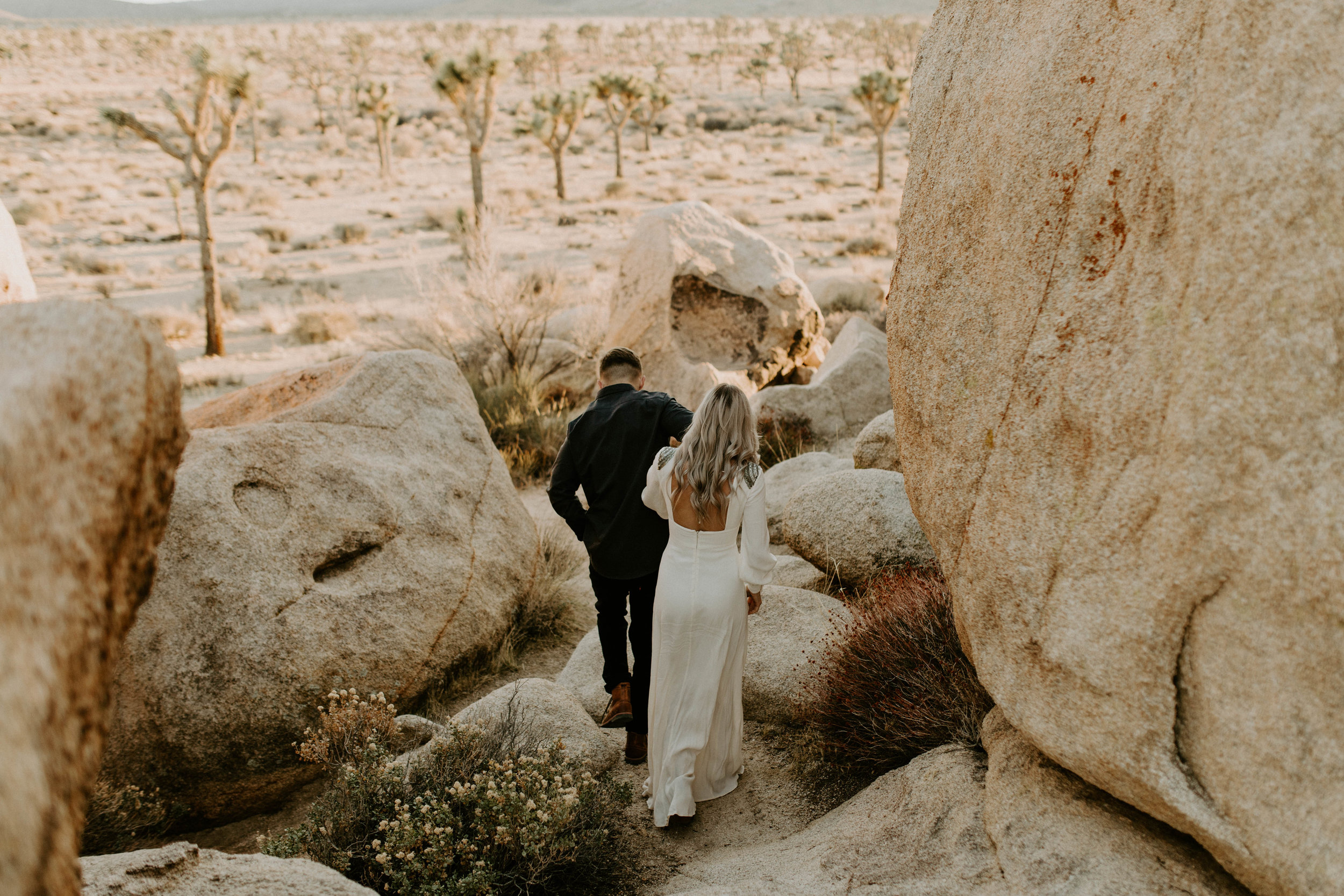 Hidden Valley Campground in Joshua Tree National Park