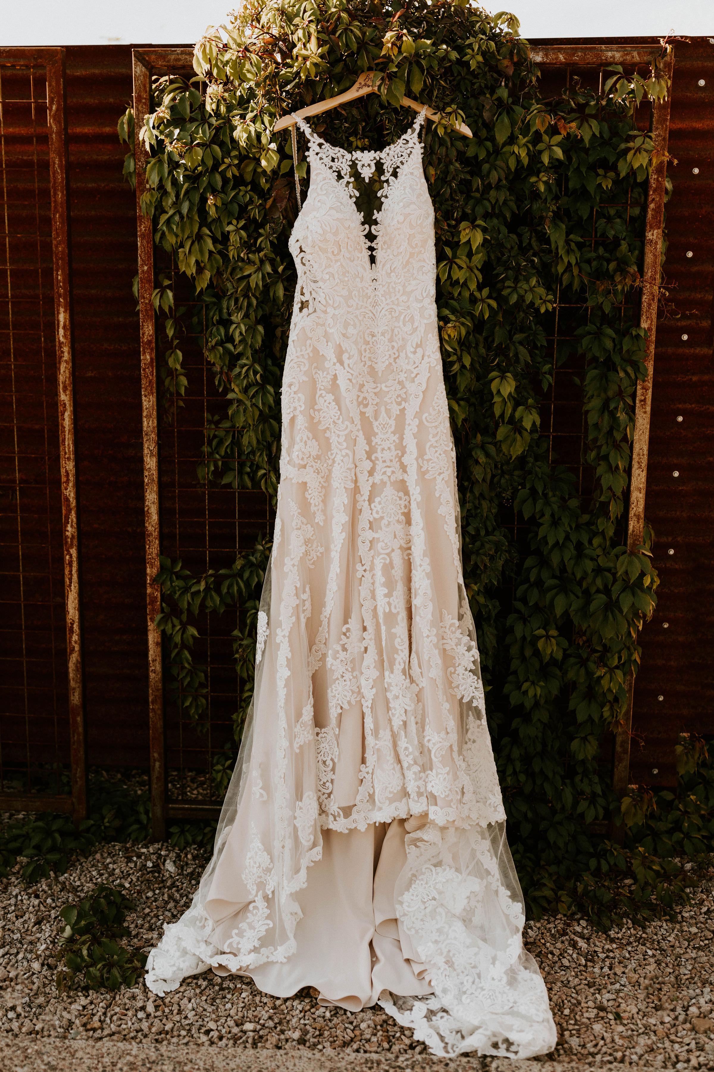 Wedding dress spot at Paseo Wedding venue