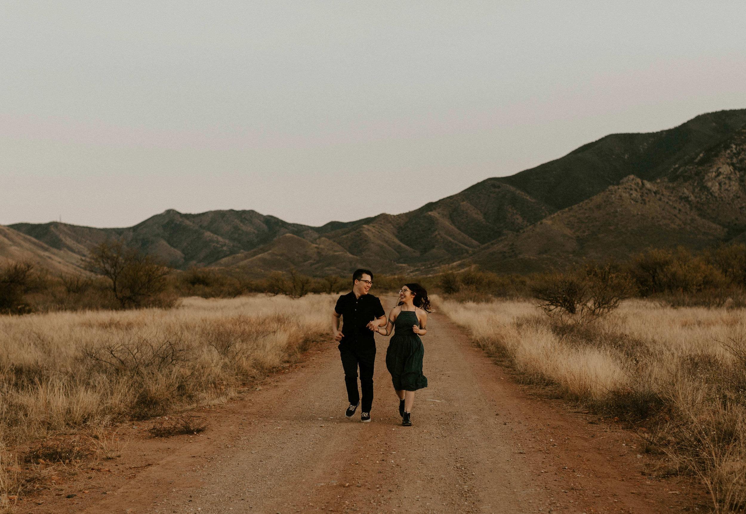 Engagement Session at Madera Canyon in Tucson, Arizona