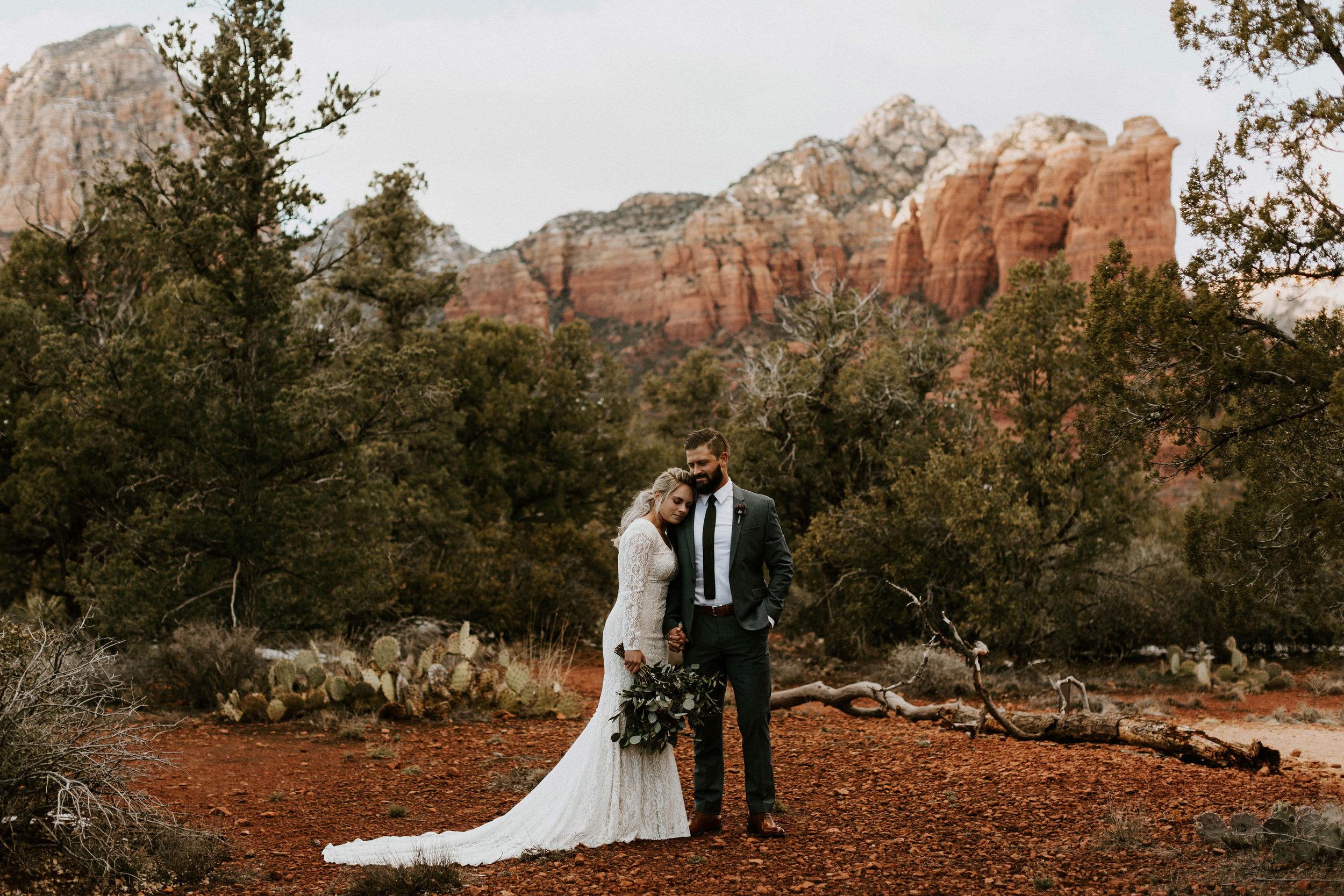 Wedding Photos in Sedona, Arizona