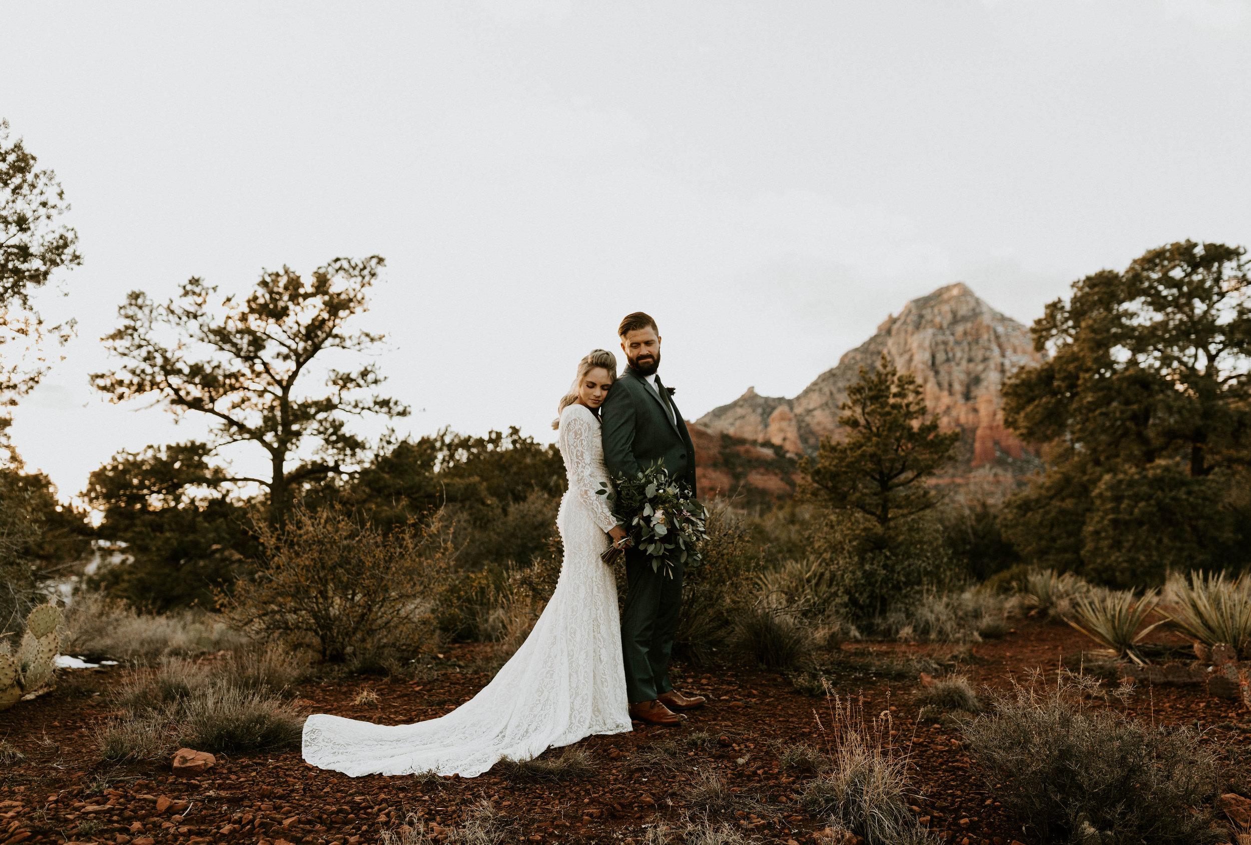 Sedona Arizona Wedding Photos
