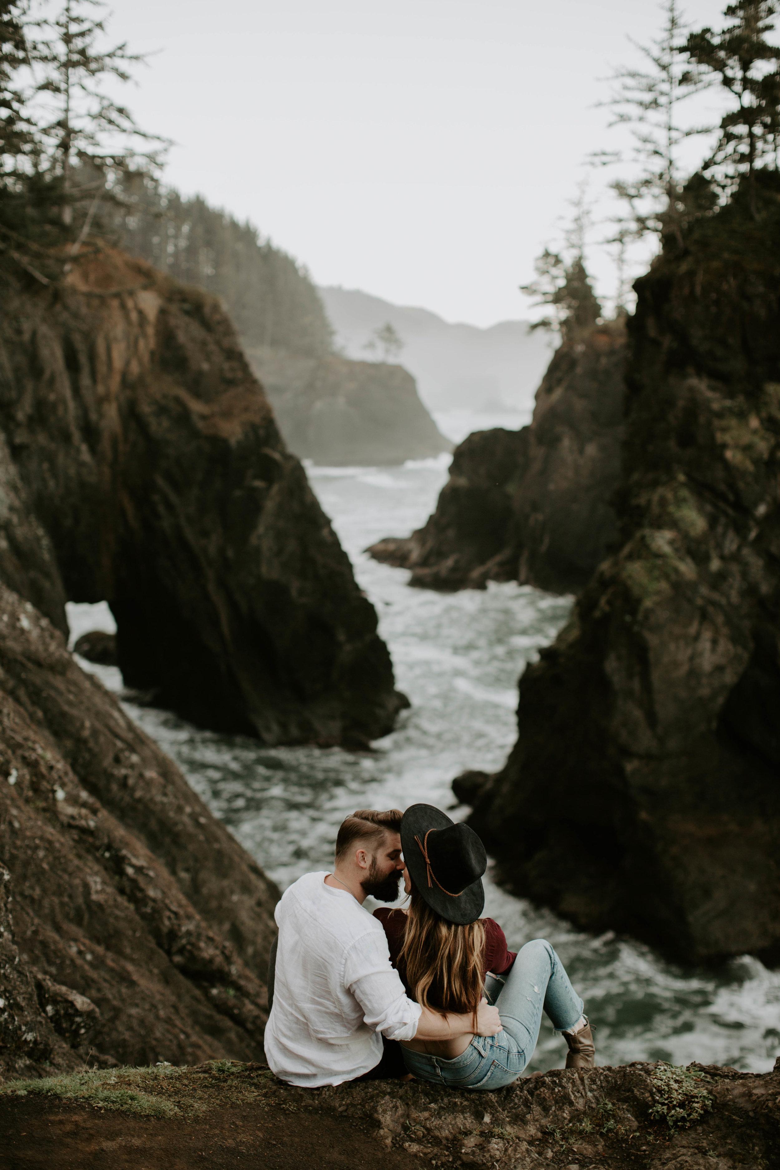 Samuel H. Boardman State Park Oregon Coast Couple Session