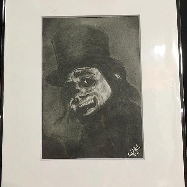 I am now selling originals! New work will be available every first Friday and only for that month! New work every month! Available in person @noirartandoddities 1101 Mulberry, KCMO 64101 or by DM. New this month Lon Chaney Sr in London After Midnight. Graphite on Bristol.  #lonchaney #phantomoftheopera #monsters #themonsterartist #bradystoehrart #drawings #drawingart #dailydrawing #drawingoftheday  #illustration #illustrations  #illustrationart #illustrator #illustrationartists #illustrate #illustragram #illustrationoftheday  #originalartwork #artshow #monsterart #weirdart  #lowbrow #creature #characterdesign #characterart  #frankenstein  #horrorart #horror
