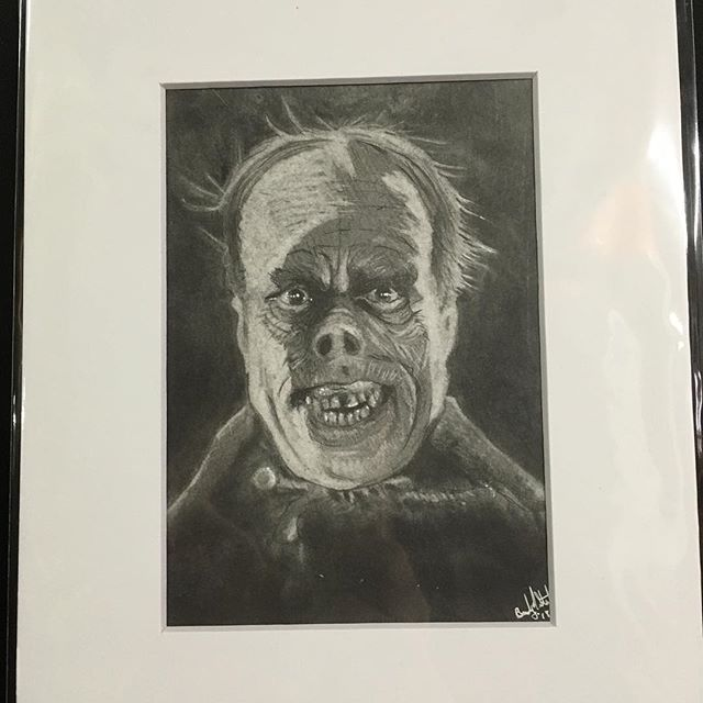 I am now selling originals! New work will be available every first Friday and only for that month! New work every month! Available in person @noirartandoddities 1101 Mulberry, KCMO 64101 or by DM. New this month Lon Chaney Sr as the Phantom of the Opera. Graphite on Bristol.  #lonchaney #phantomoftheopera #monsters #themonsterartist #bradystoehrart #drawings #drawingart #dailydrawing #drawingoftheday  #illustration #illustrations  #illustrationart #illustrator #illustrationartists #illustrate #illustragram #illustrationoftheday  #originalartwork #artshow #monsterart #weirdart  #lowbrow #creature #characterdesign #characterart  #frankenstein  #horrorart #horror
