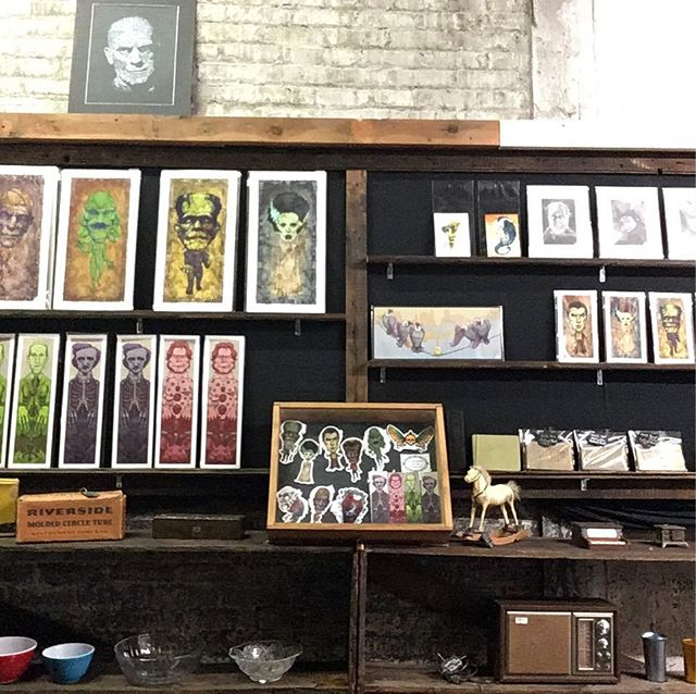 Looking to buy some Brady Stoehr Art? I now have a dedicated retail space in the West Bottoms KCMO! 2nd floor @noirartsandoddities 1101 Mulberry, Kansas City MO 64101