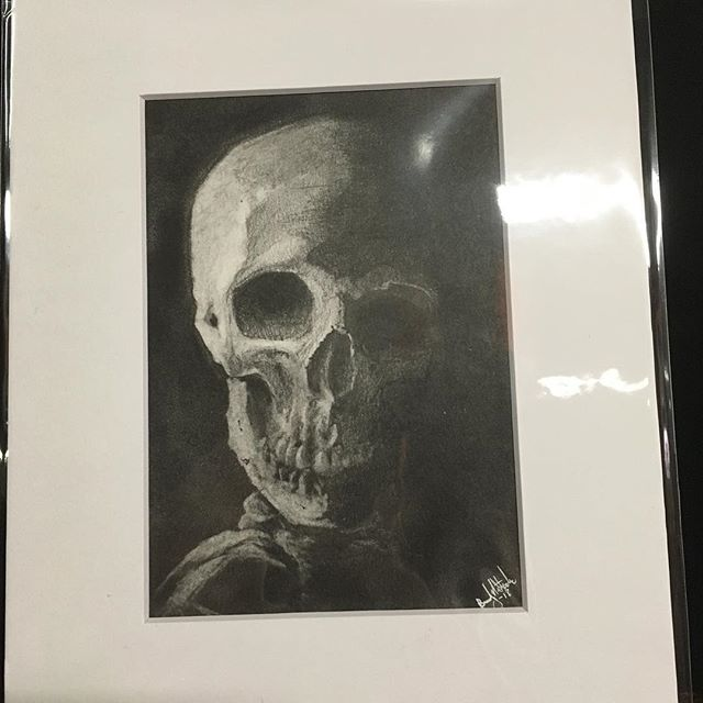 I am now selling originals! New work will be available every first Friday and only for that month! New work every month! Available in person @noirartandoddities 1101 Mulberry, KCMO 64101 or by DM. New this month an anatomy study in graphite on bristol.  #skull #monsters #themonsterartist #bradystoehrart #drawings #drawingart #dailydrawing #drawingoftheday  #illustration #illustrations  #illustrationart #illustrator #illustrationartists #illustrate #illustragram #illustrationoftheday  #originalartwork #artshow #monsterart #weirdart  #lowbrow #creature #characterdesign #characterart  #frankenstein  #horrorart #horror
