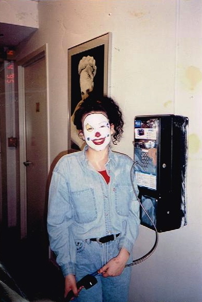 """""""For you Apple loving Millennials,this is an ancient communication device called a Payphone.""""Tina Klideris - Taken in 1994"""