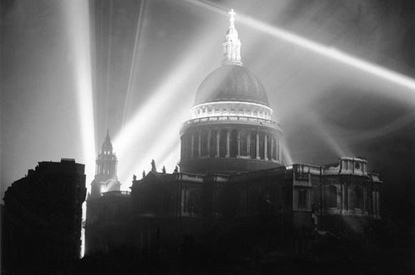 St Paul's lit-up on Victory in Europe-1.jpg