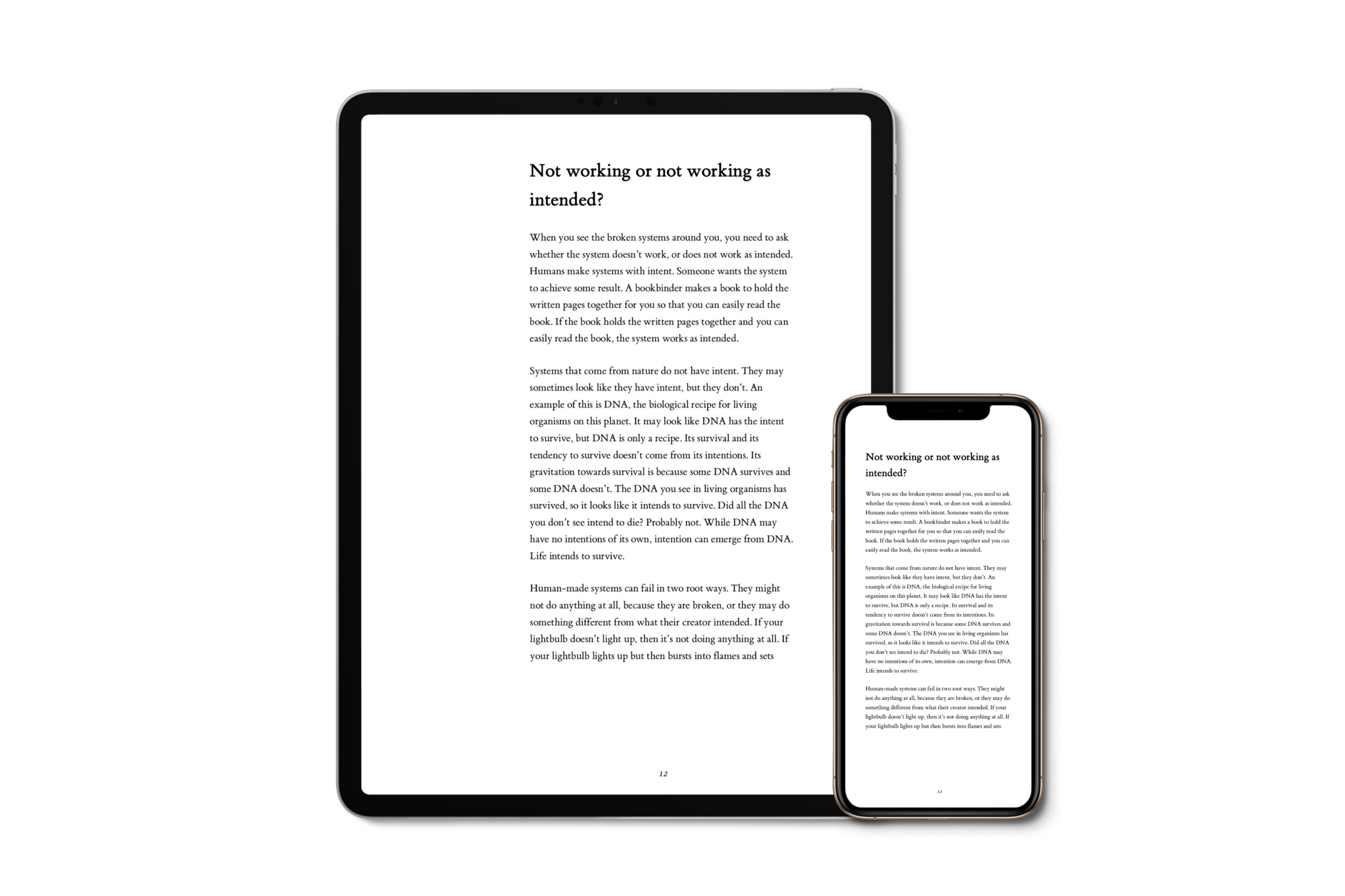PDF eBook - Read the beautifully laid out PDF on your computer, tablet, smartphone, or e-reader that supports PDF.