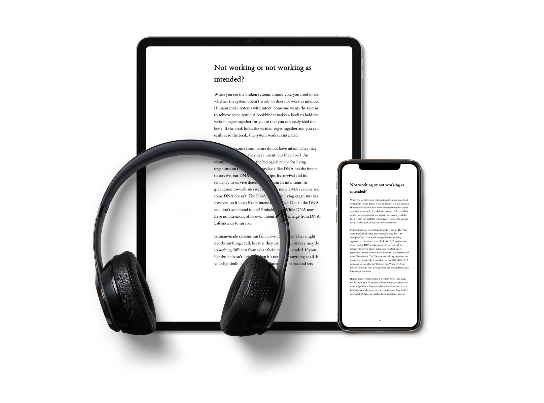 PDF eBook with Audiobook - Listen to the two hour audiobook while you do chores, commute to work, or relax by the beach. Or, read the beautifully laid out PDF on your computer, tablet, smartphone, or e-reader that supports PDF.