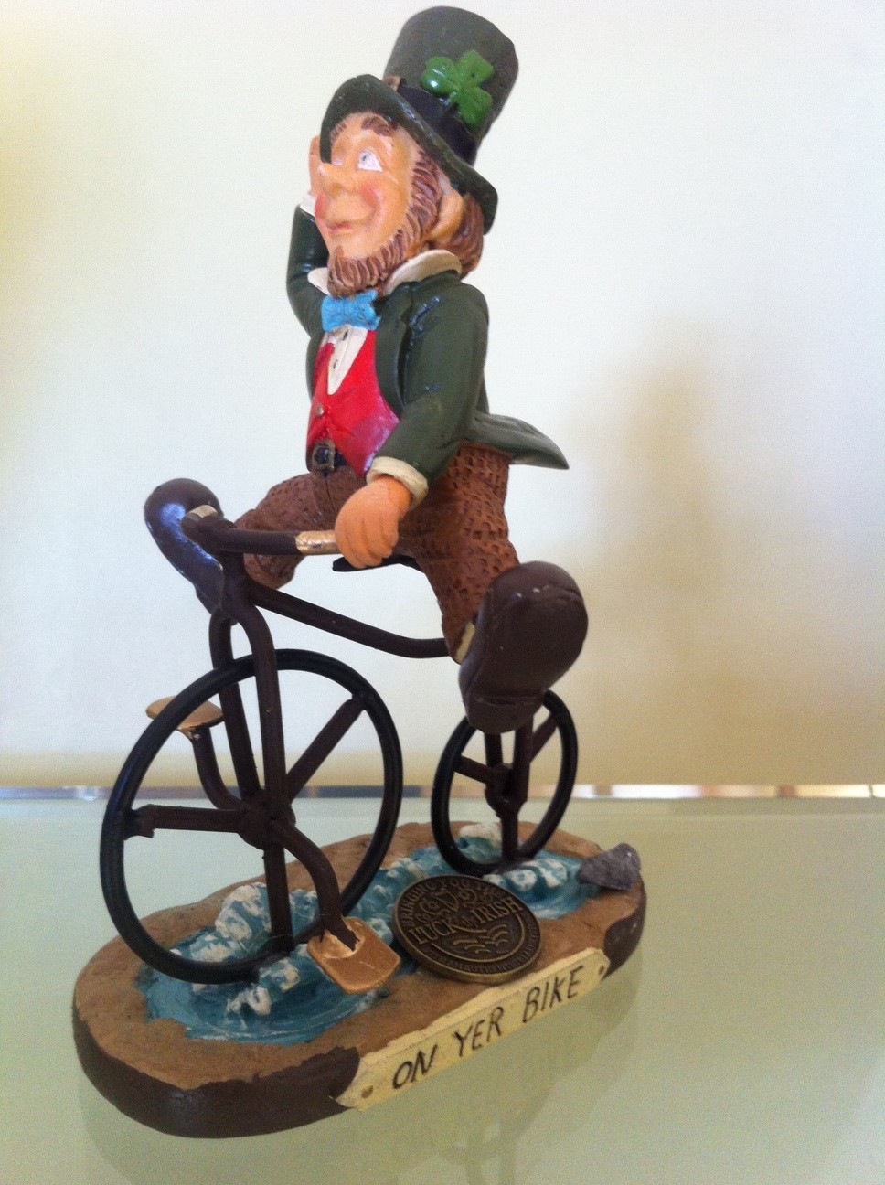 How about winning this KOM or QOM prize! On yer bike, lads and lasses!