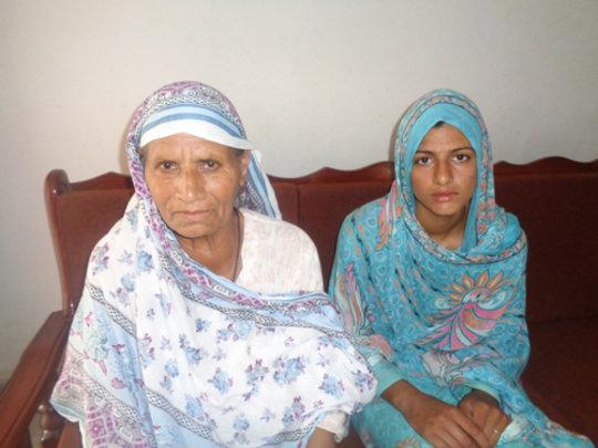 Irum and her Grandmother