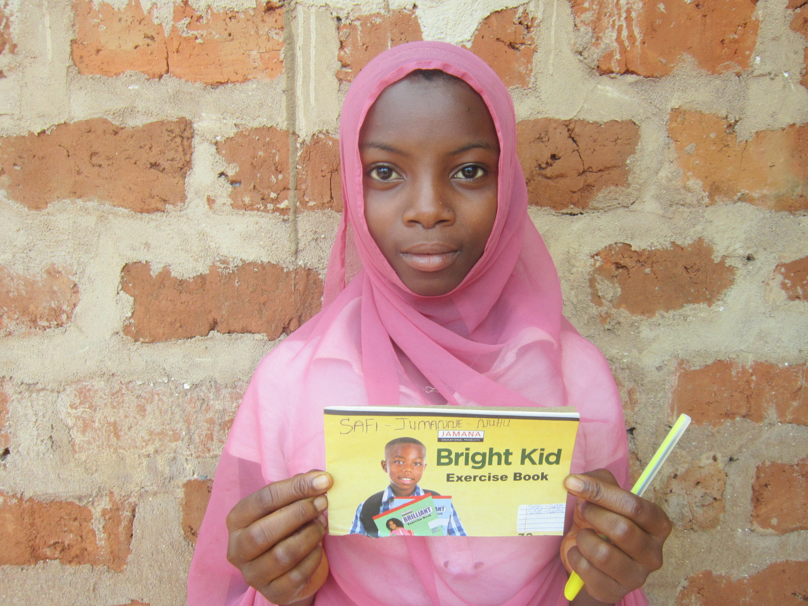 Our student, Safi