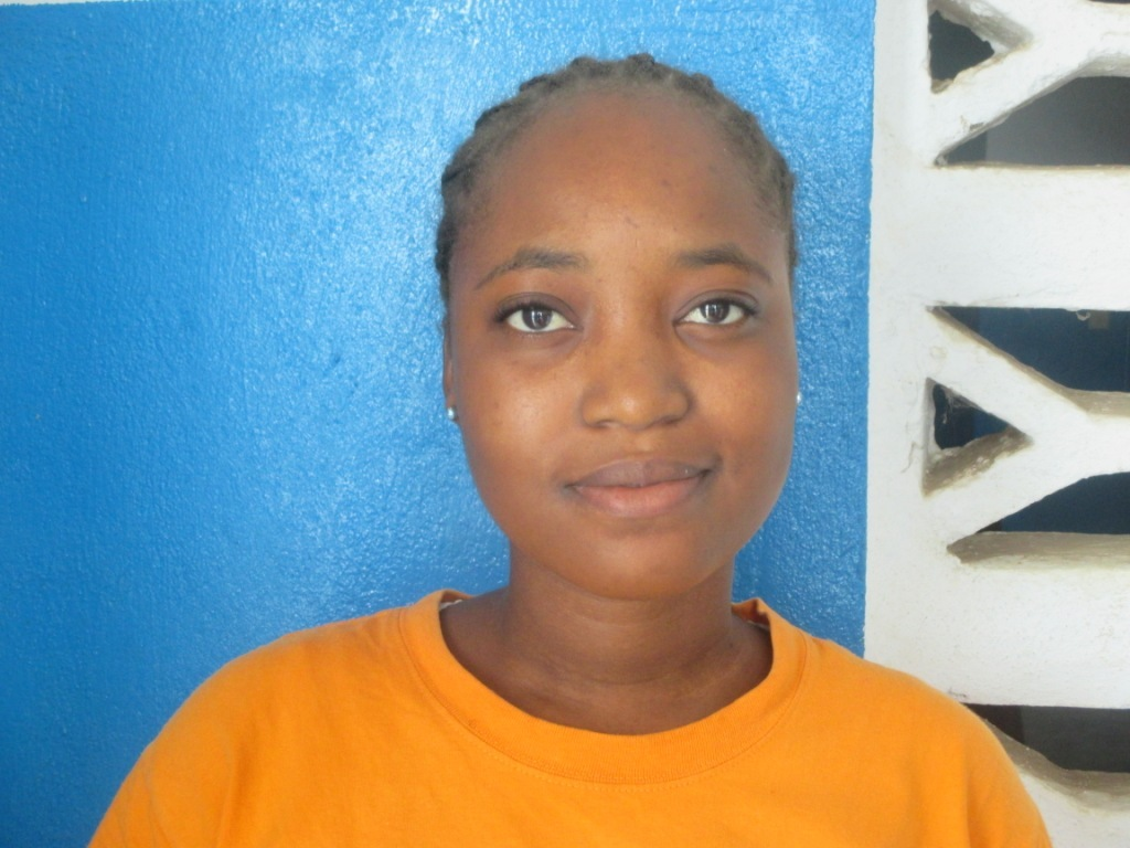 Our student, Mercy