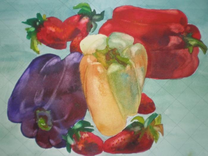 Peppers  & Berries