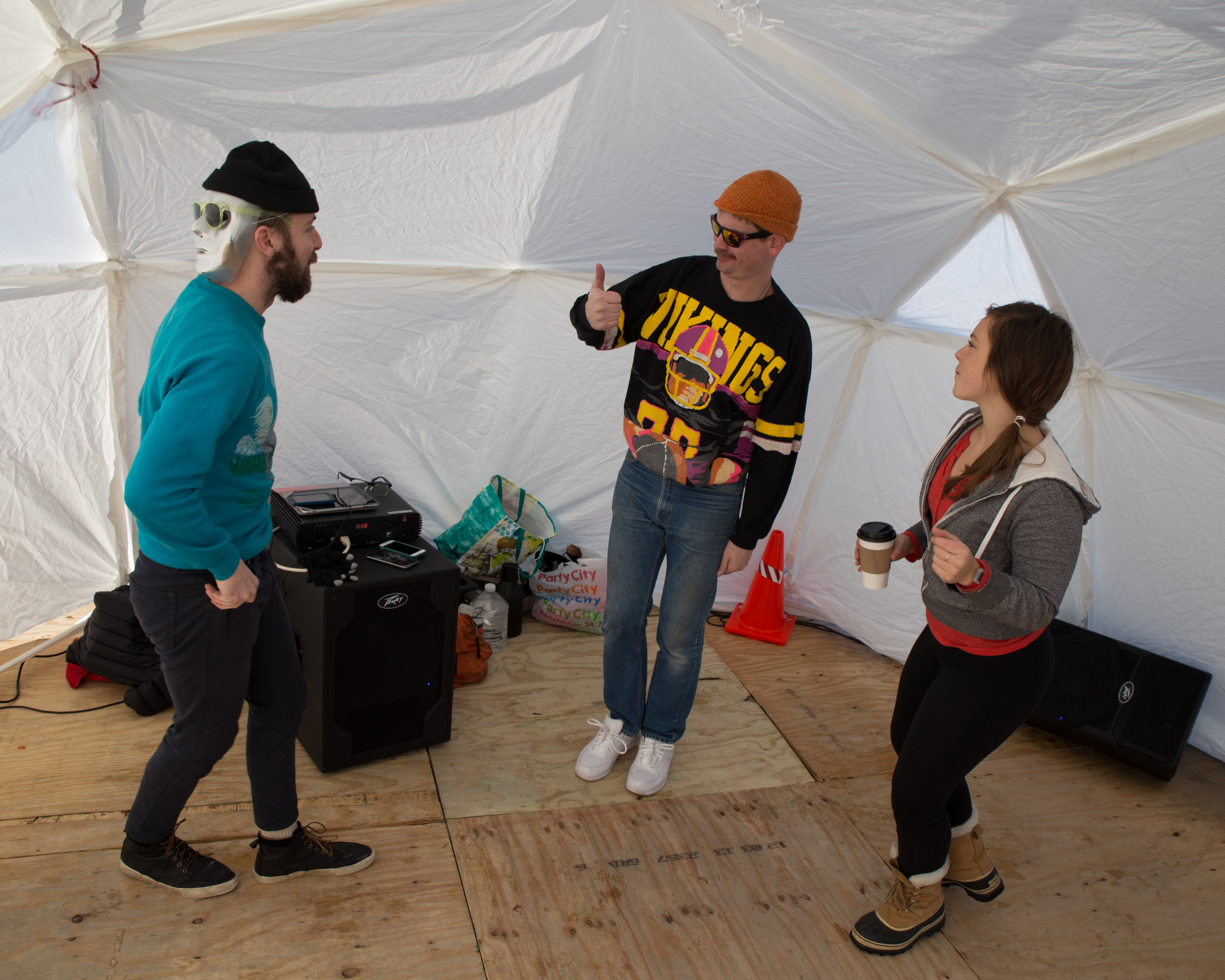 Warm up in the Dance Shanty. Always energetic. You will be guaranteed to leave with a smile on your face!