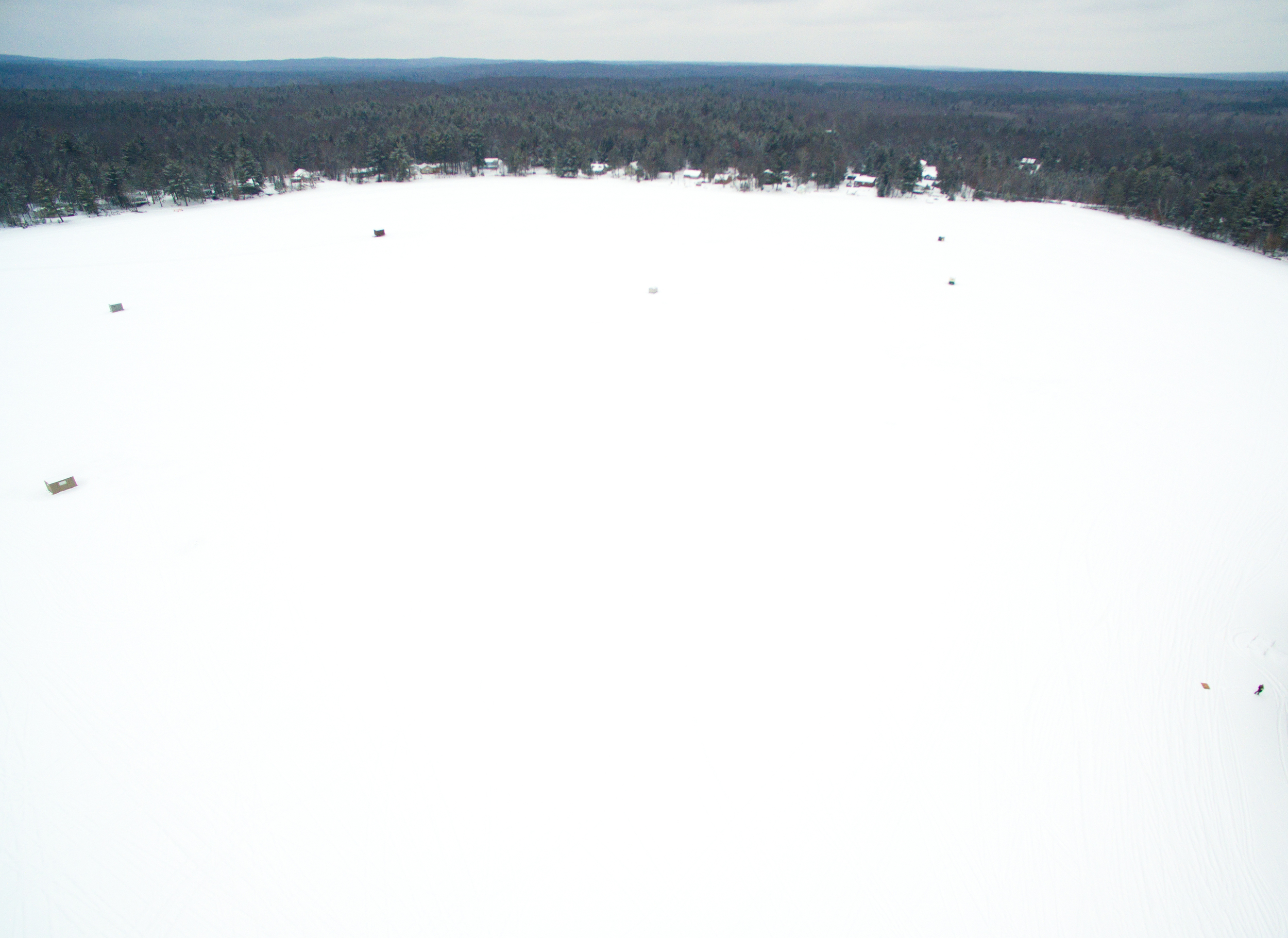 west side of lake