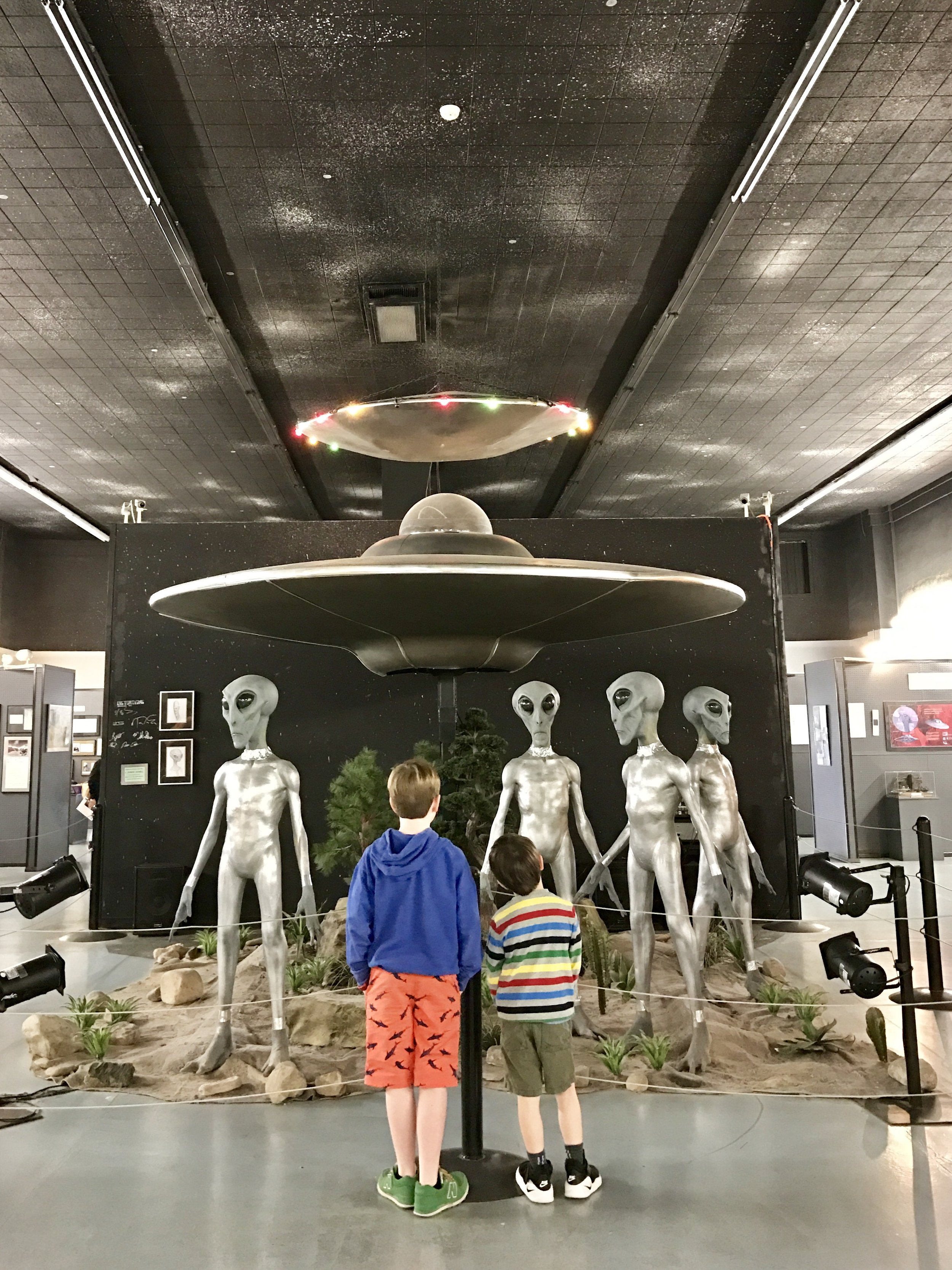 UFO Museum in Roswell, NM