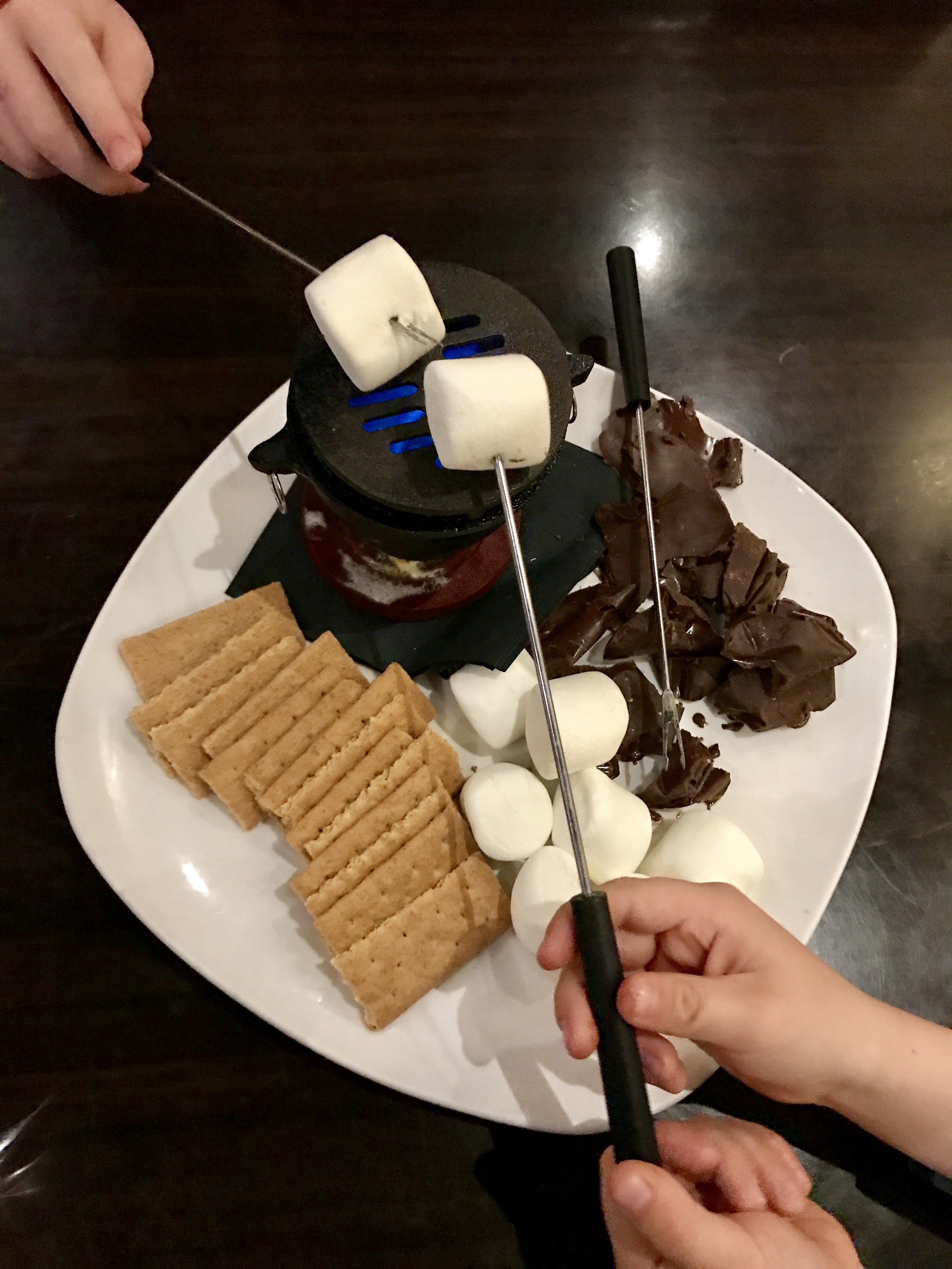 S'mores at the Pecan Grill