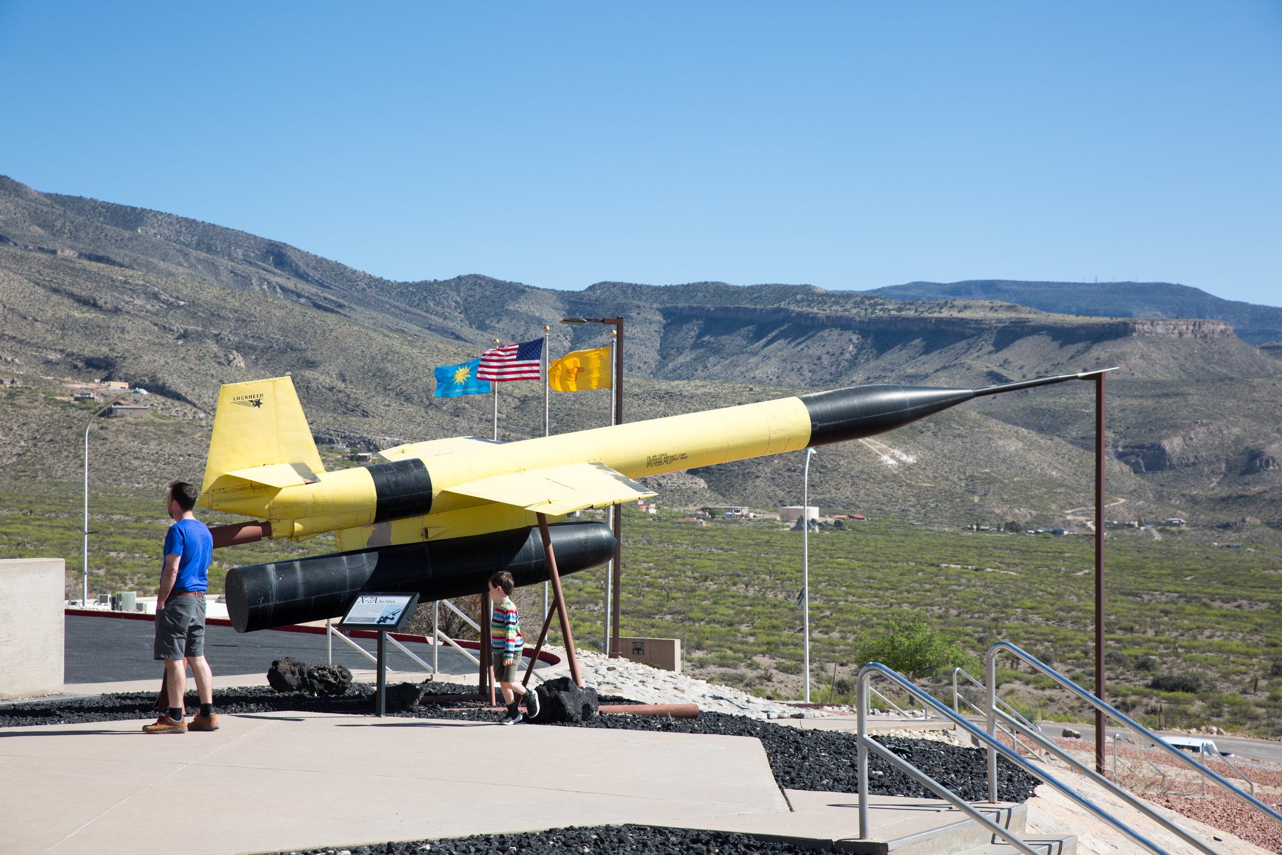 Space Museum in Alamogordo