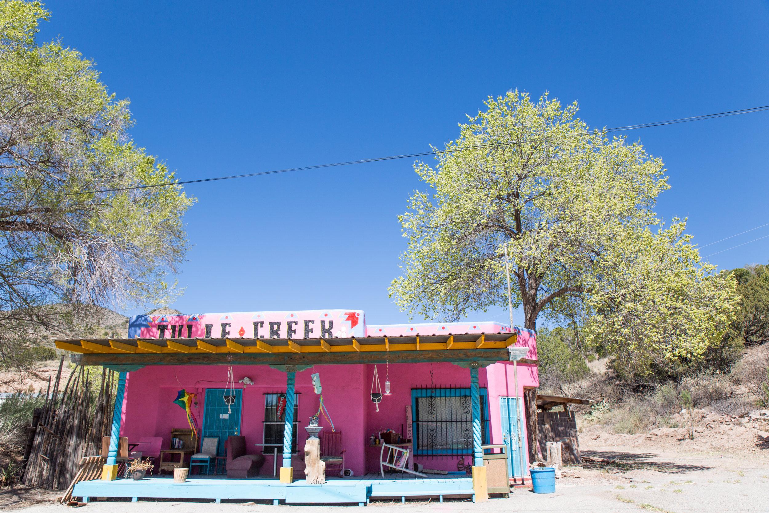 Cute store on the road near Tularosa