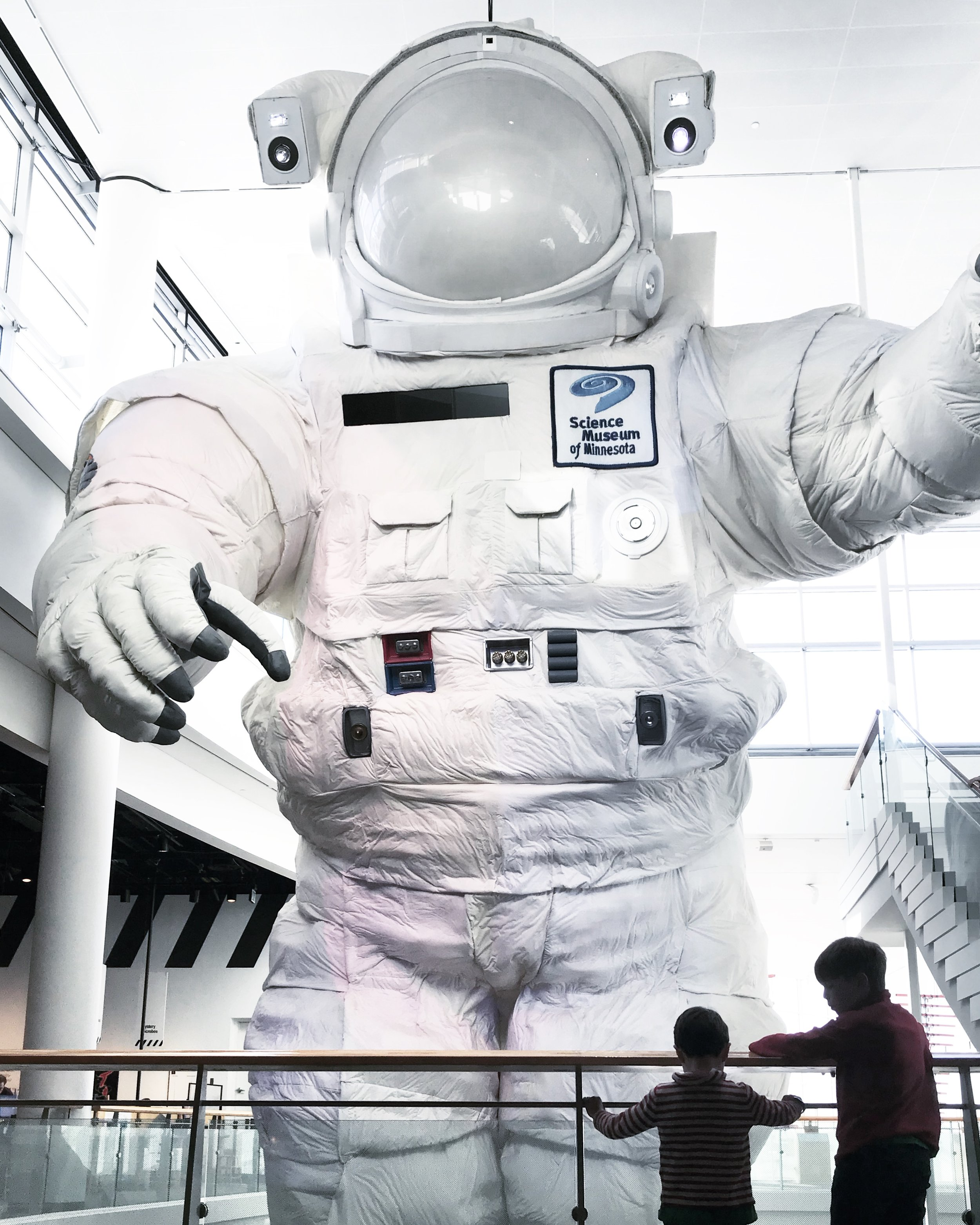 A visit to the Science Museum in St Paul, Minnesota