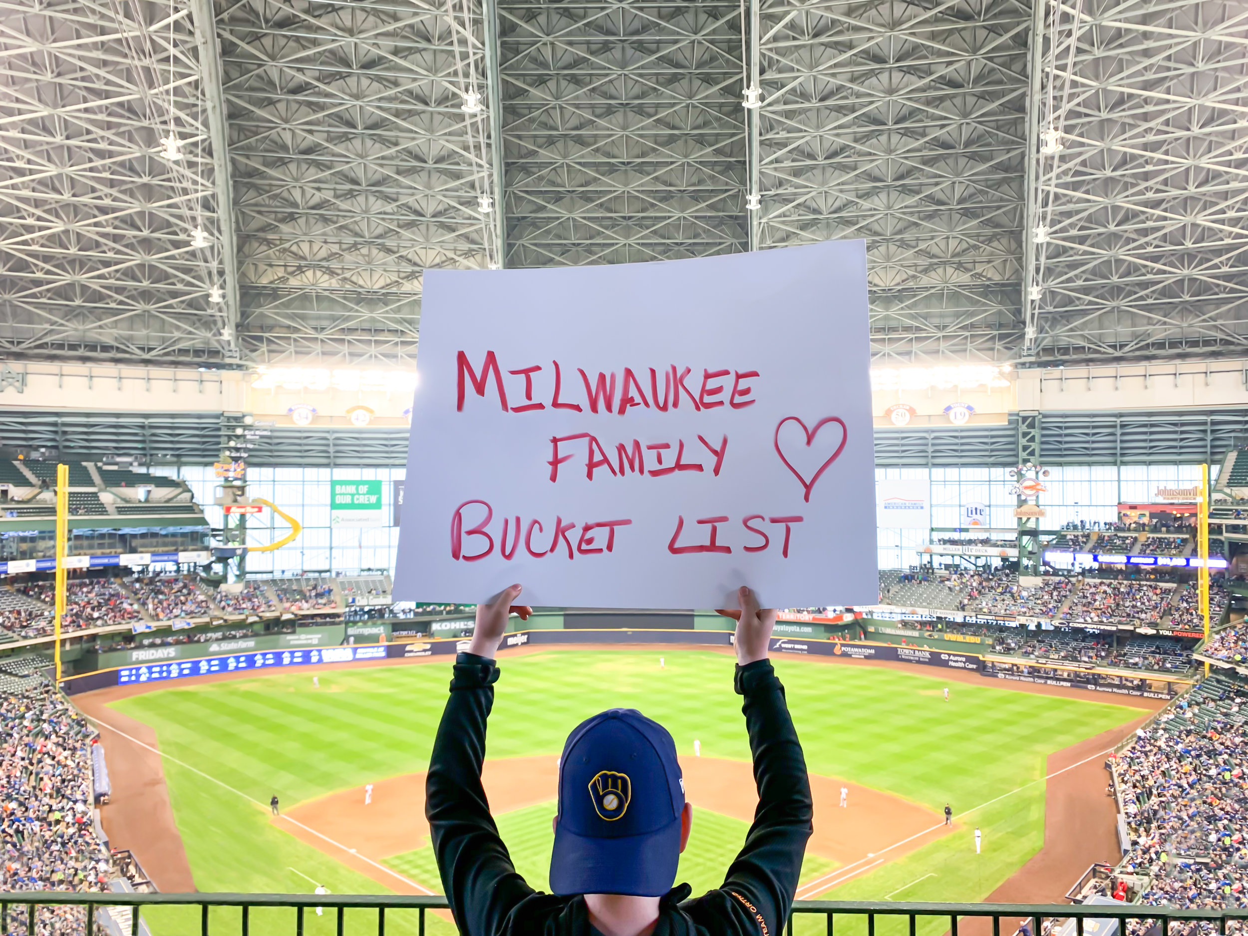 Milwaukee Family Bucket List - We're going to crush it this summer.