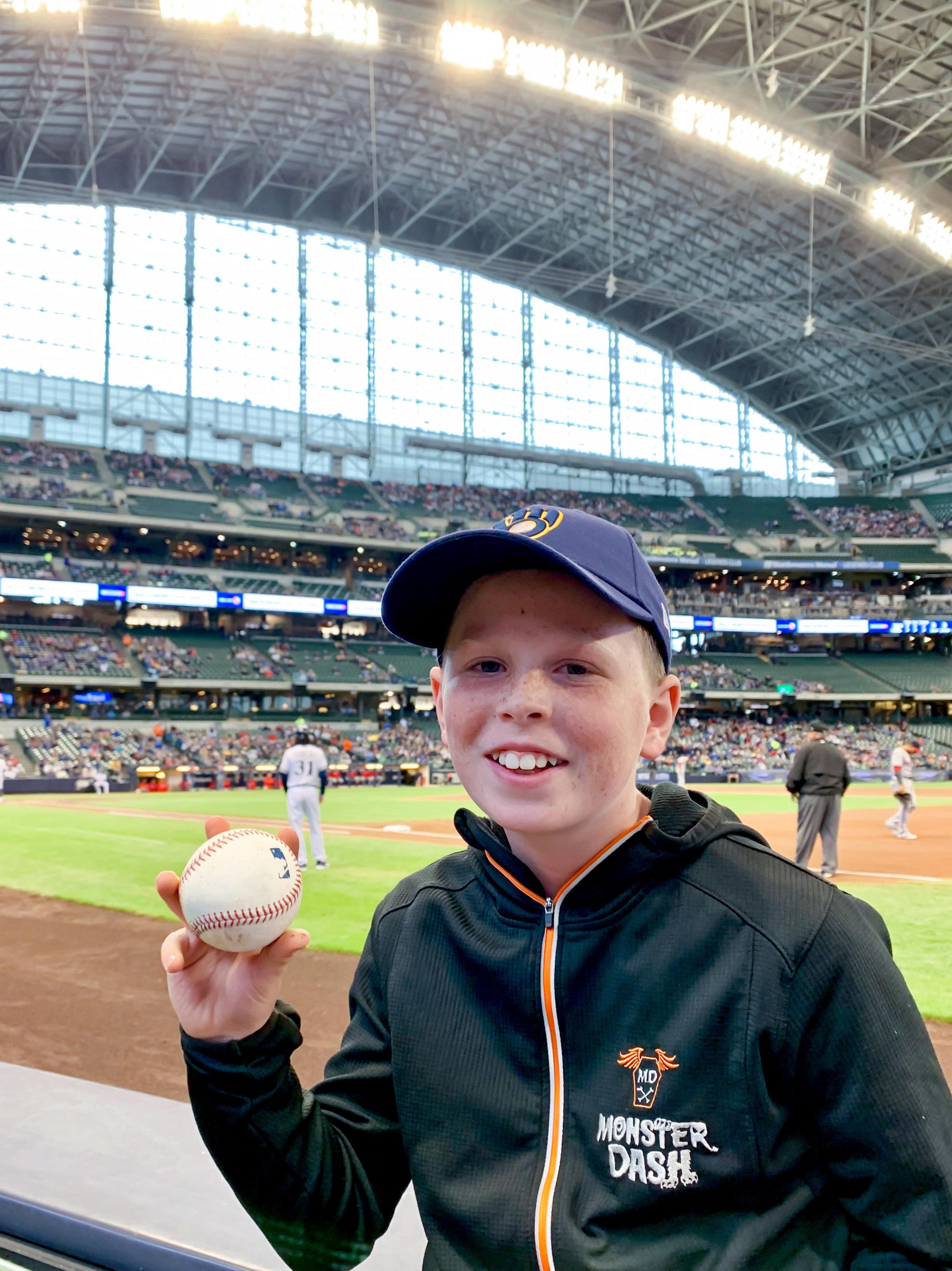 baseball at Miller Park