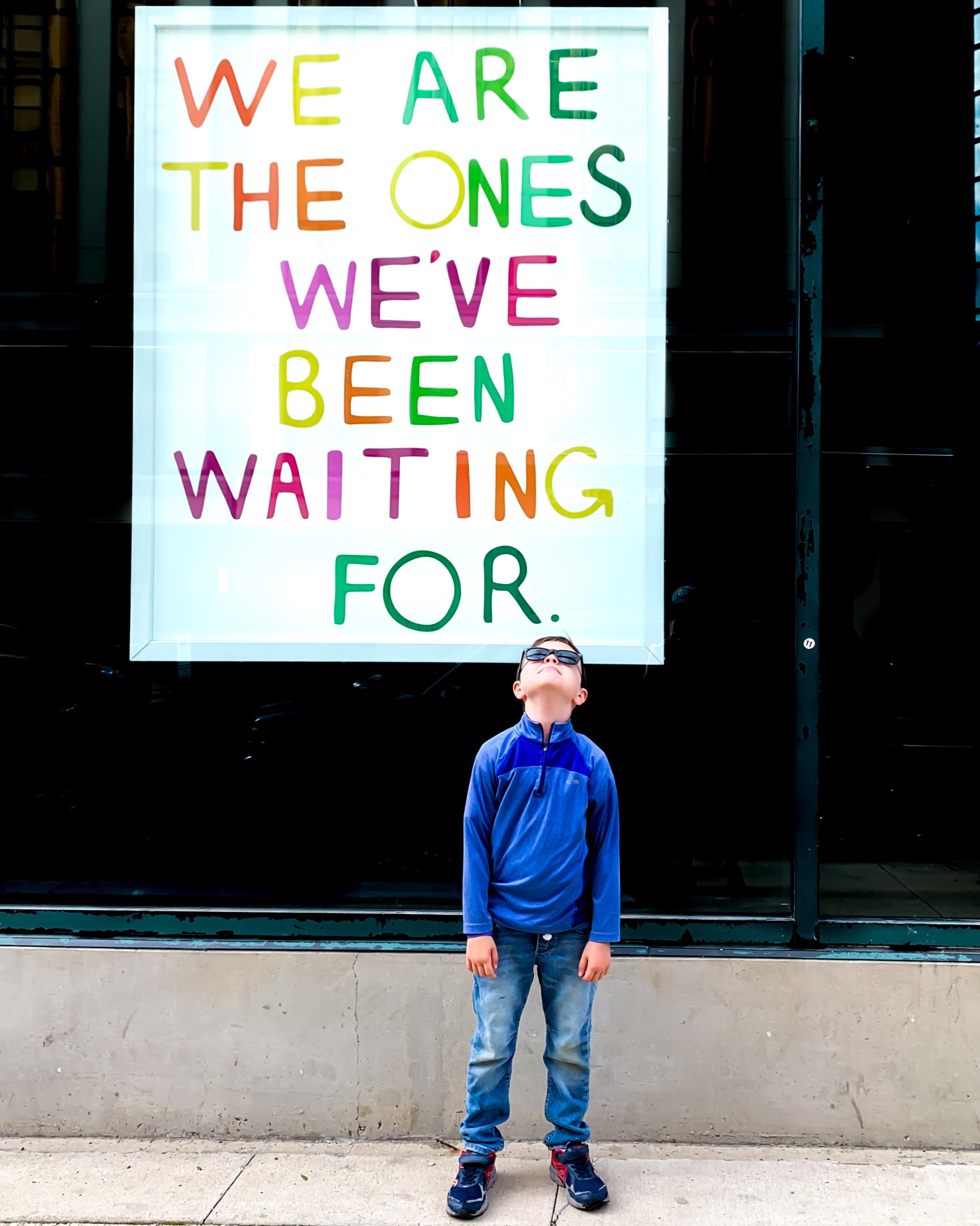 """""""We Are The Ones We've Been Waiting For 2018"""" by Sam Durant"""