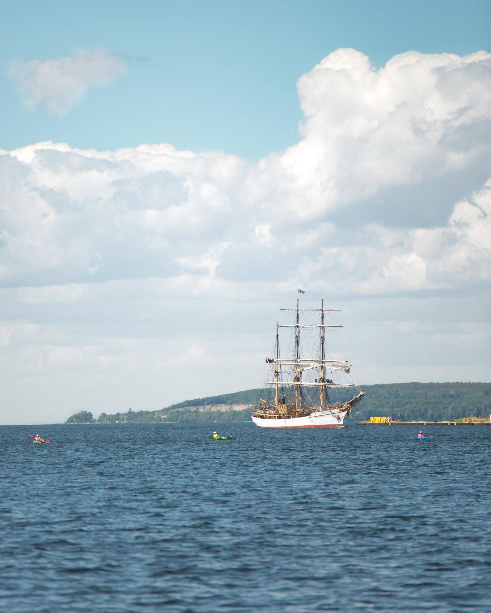 Tall Ships in Sturgeon Bay