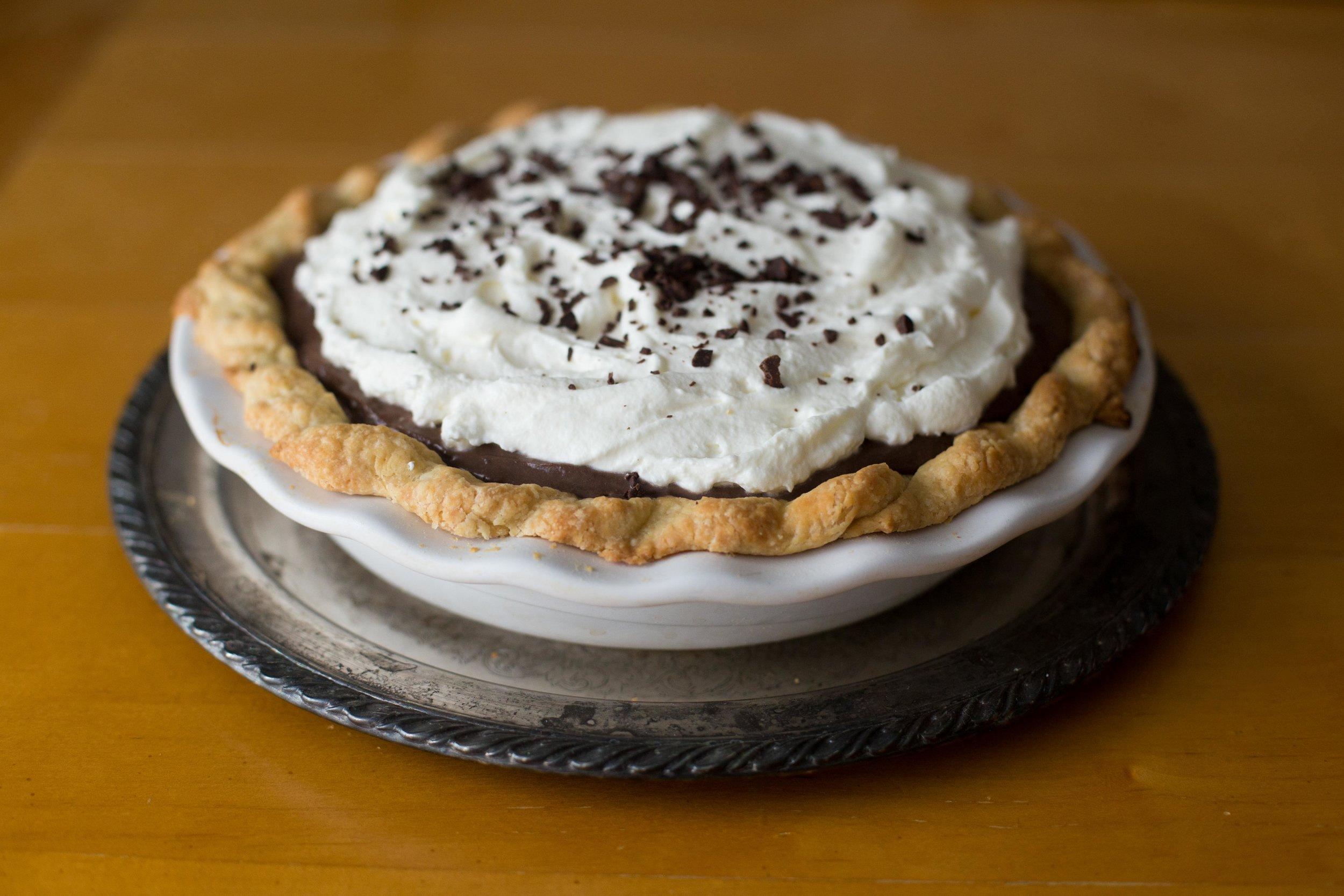 Chicago Chocolate Cream Pie