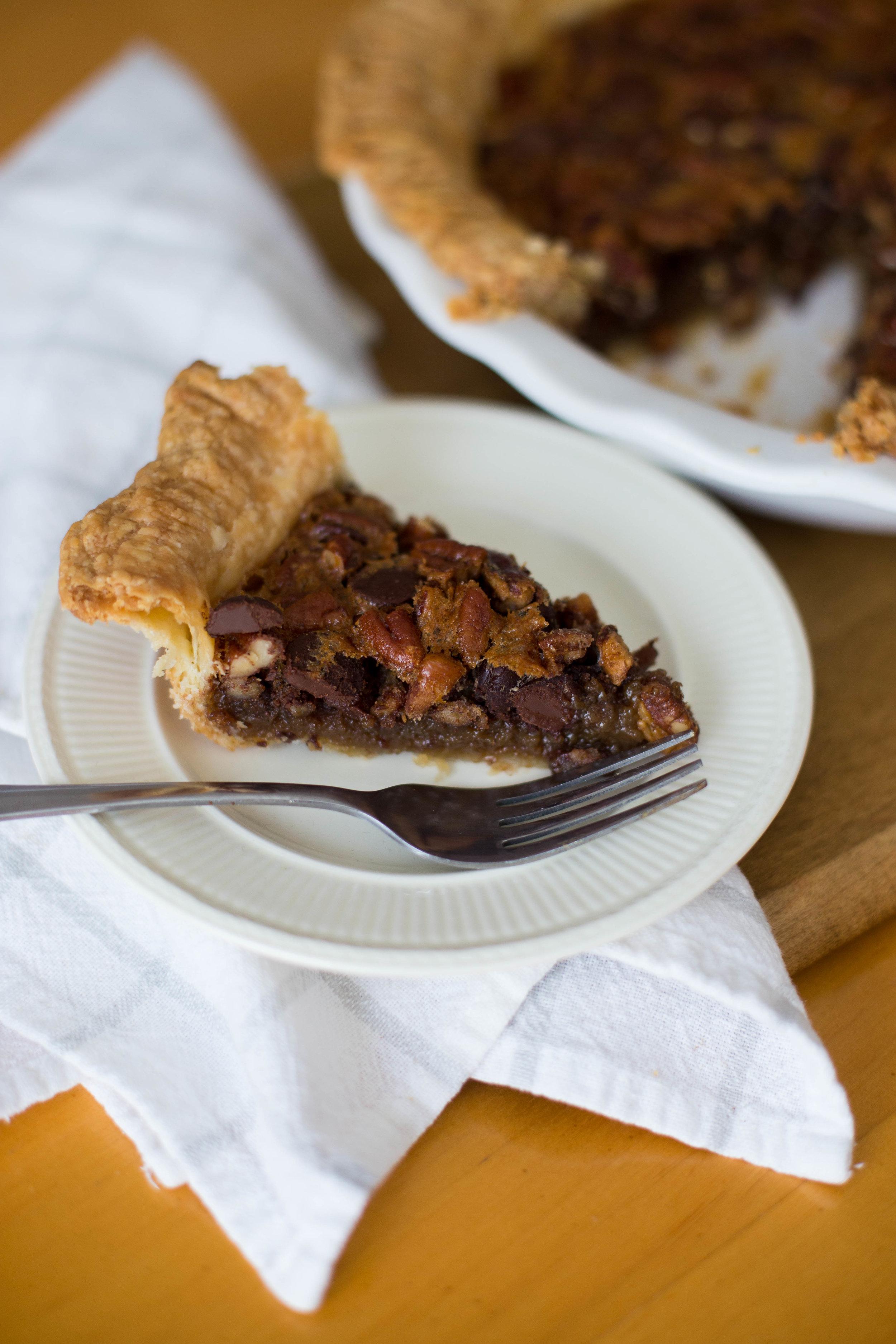 Chicago Chocolate Pecan Pie