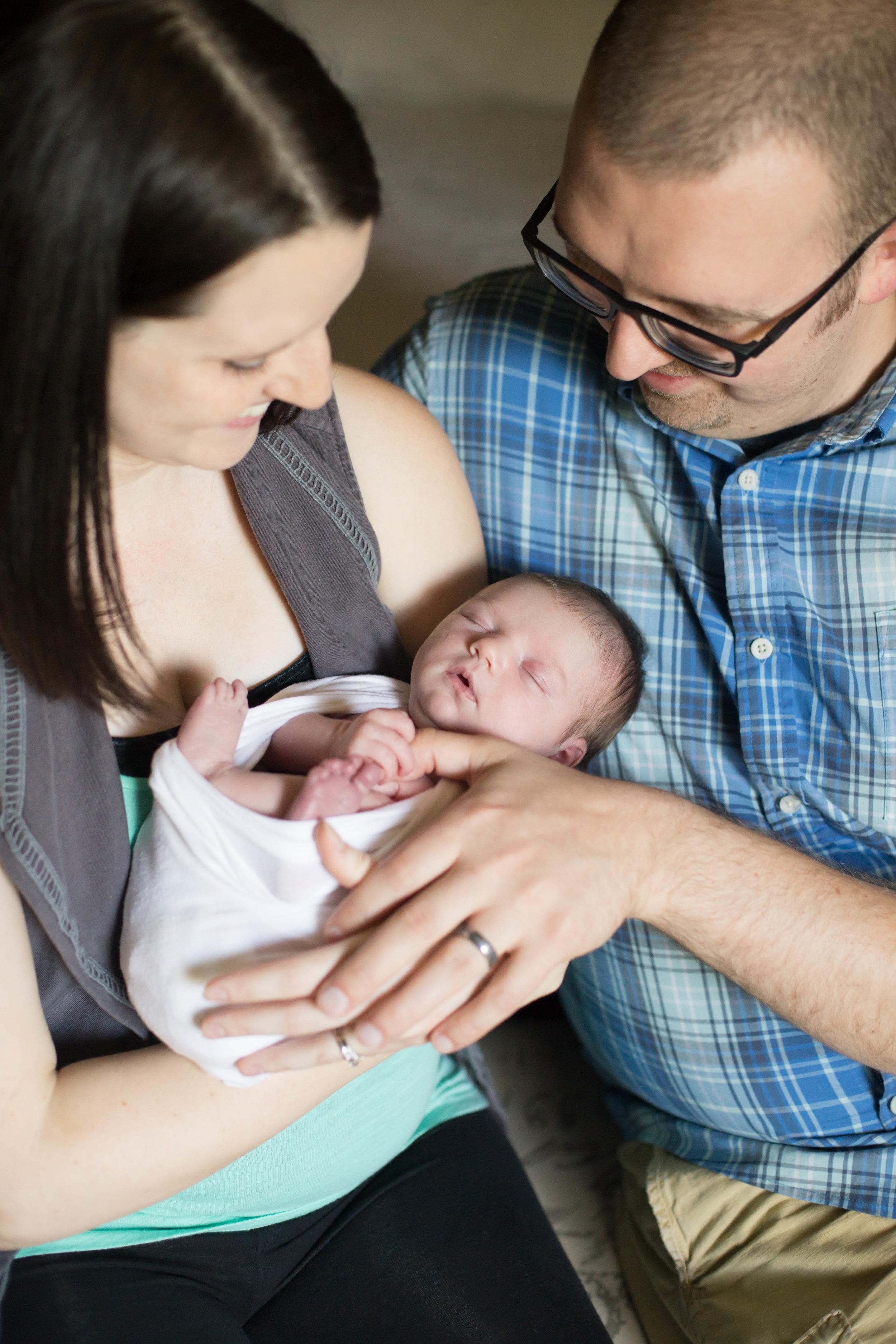 Newborn Lifestyle Family Wheaton