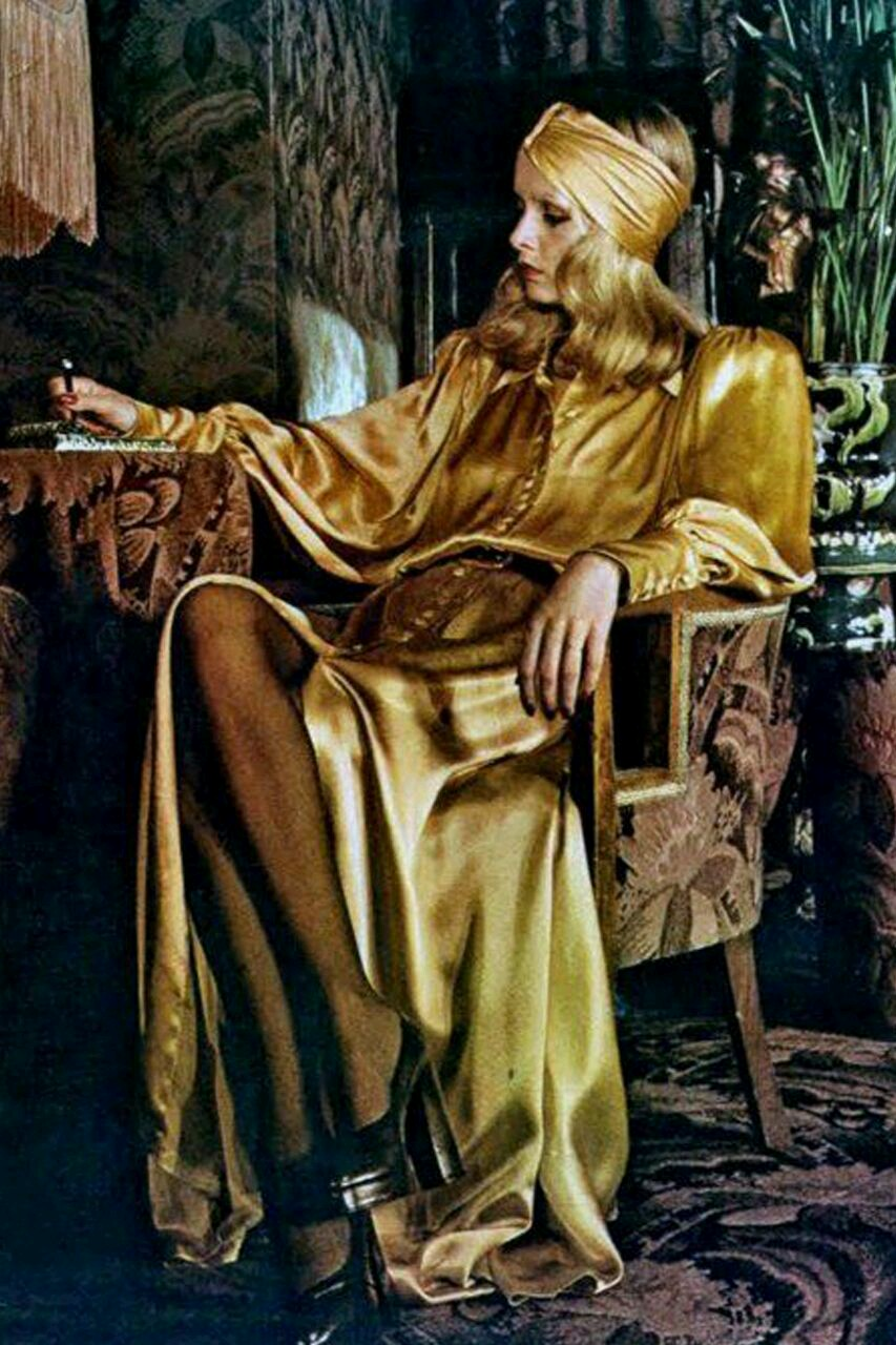 Twiggy Modelling for Biba 1971