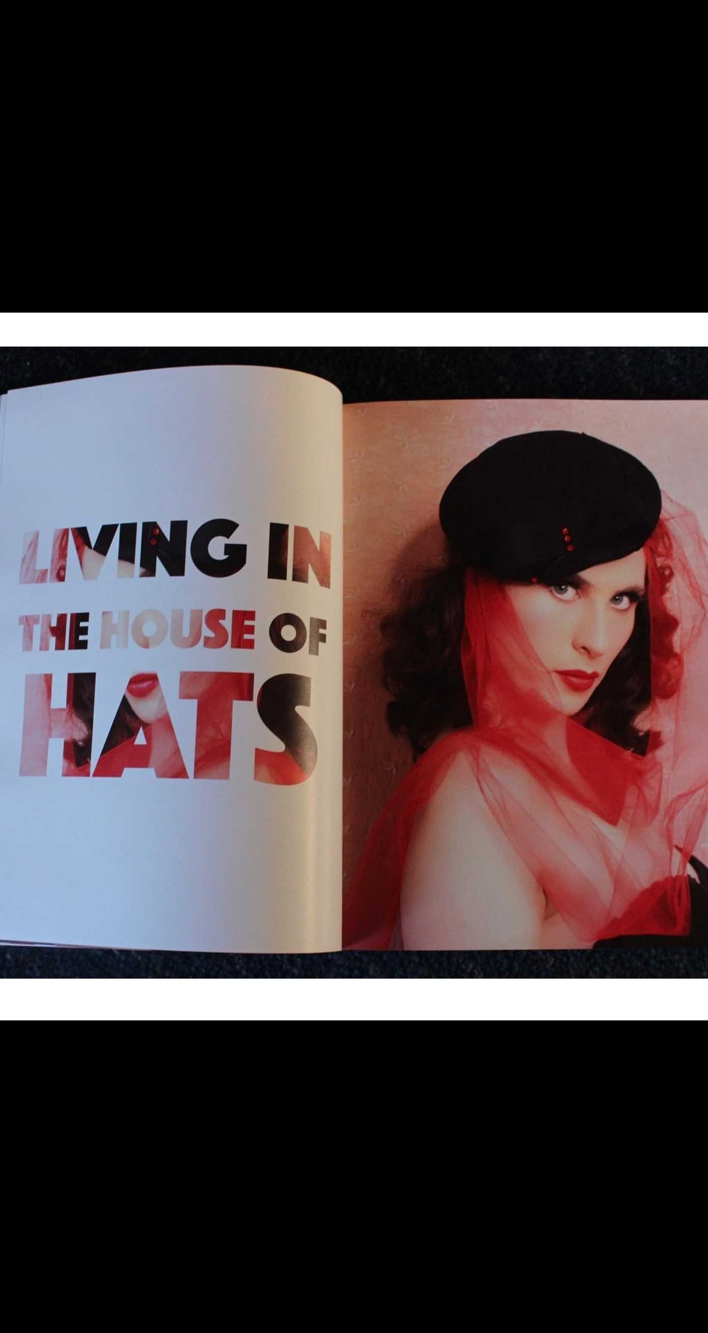 The House of Hats Feature in The Golden Lounge Magazine Pinup Australia Hats Sydney .jpg