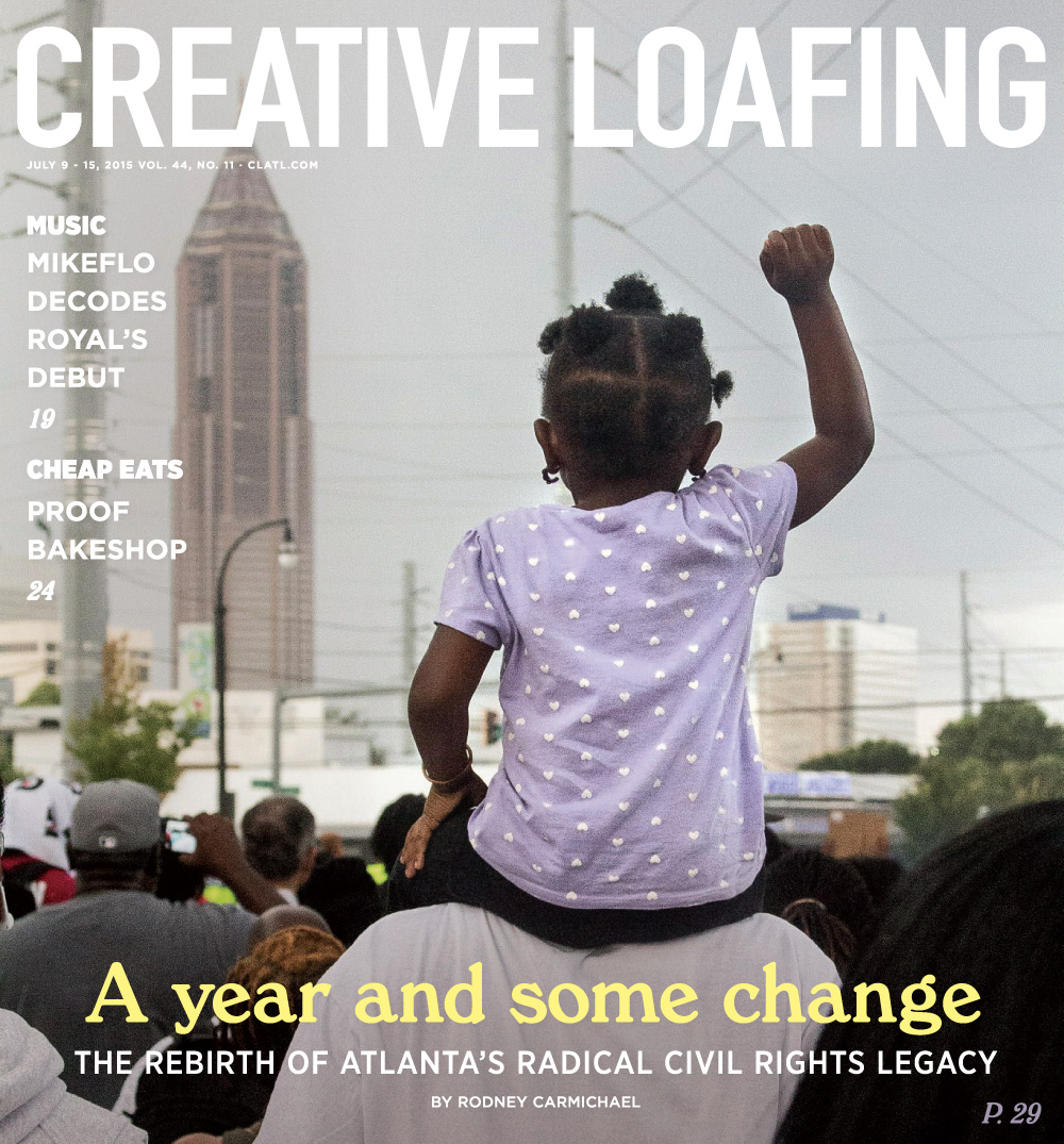 Creative Loafing - Vol. 44 No. 11 Cover - Image by Julian Plowden