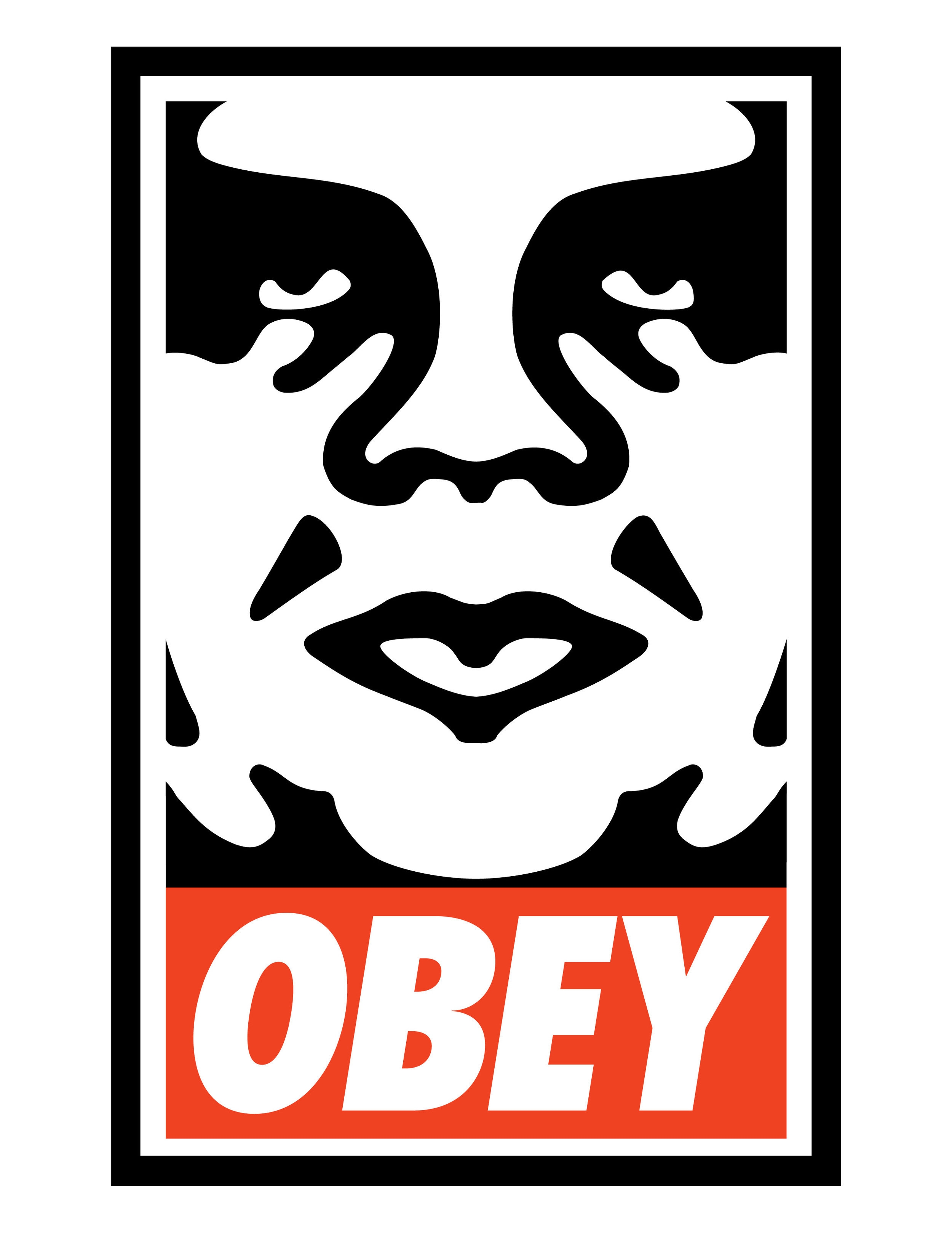 Shepard Fairey's OBEY with the Andre the Giant face