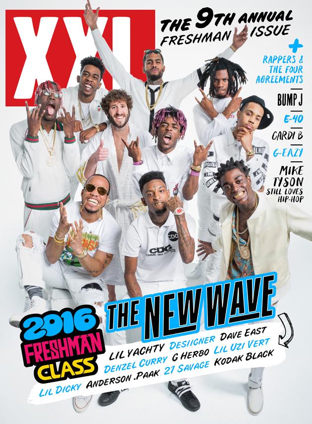 XXL 2016 Freshman Class Cover
