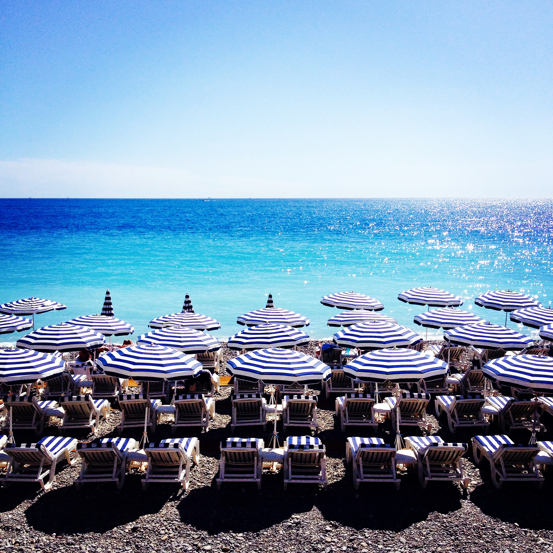 I Am Zazie travel beaches of Nice