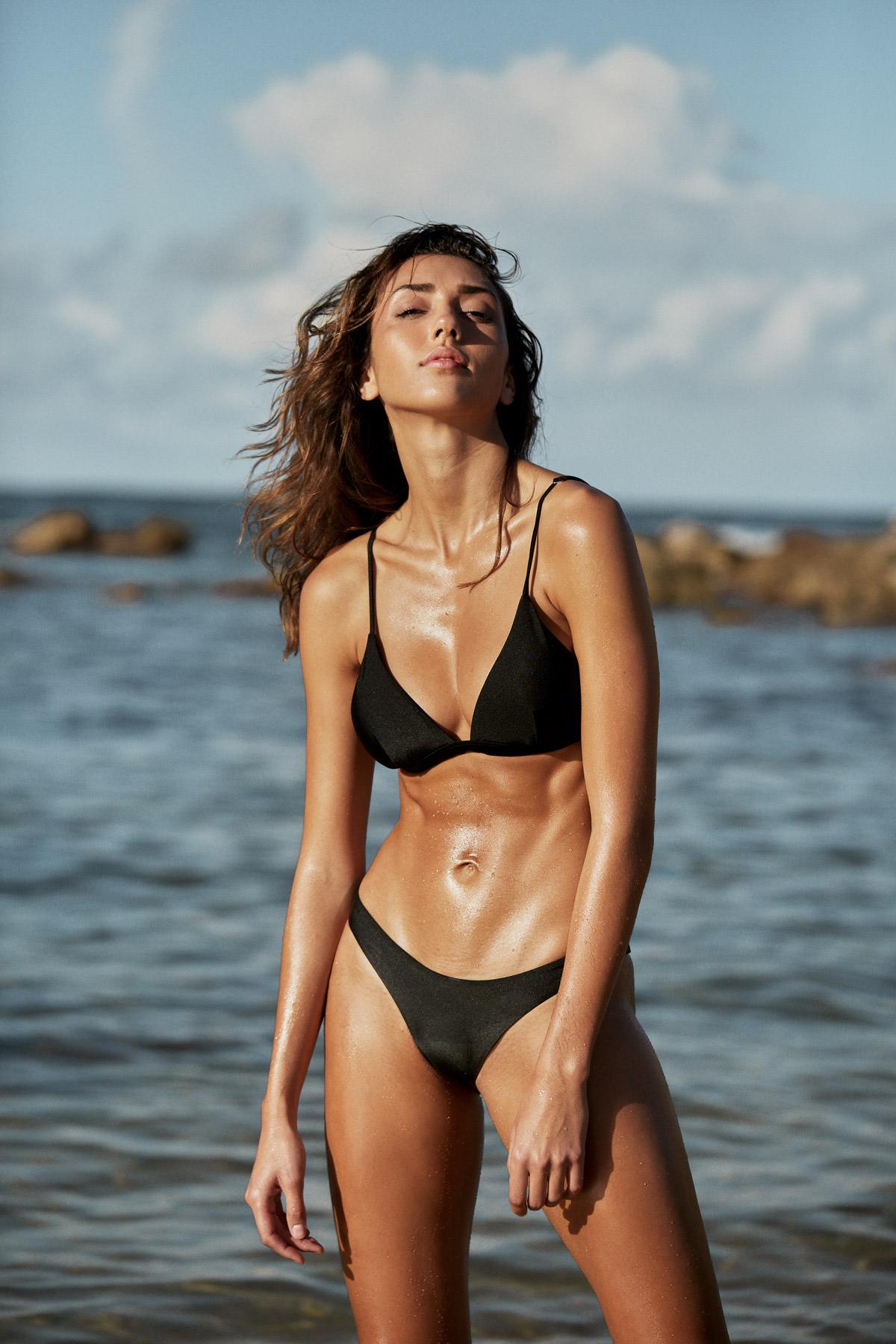 I Am Zazie Swimwear Harper Bikini Espresso Campaign Summer