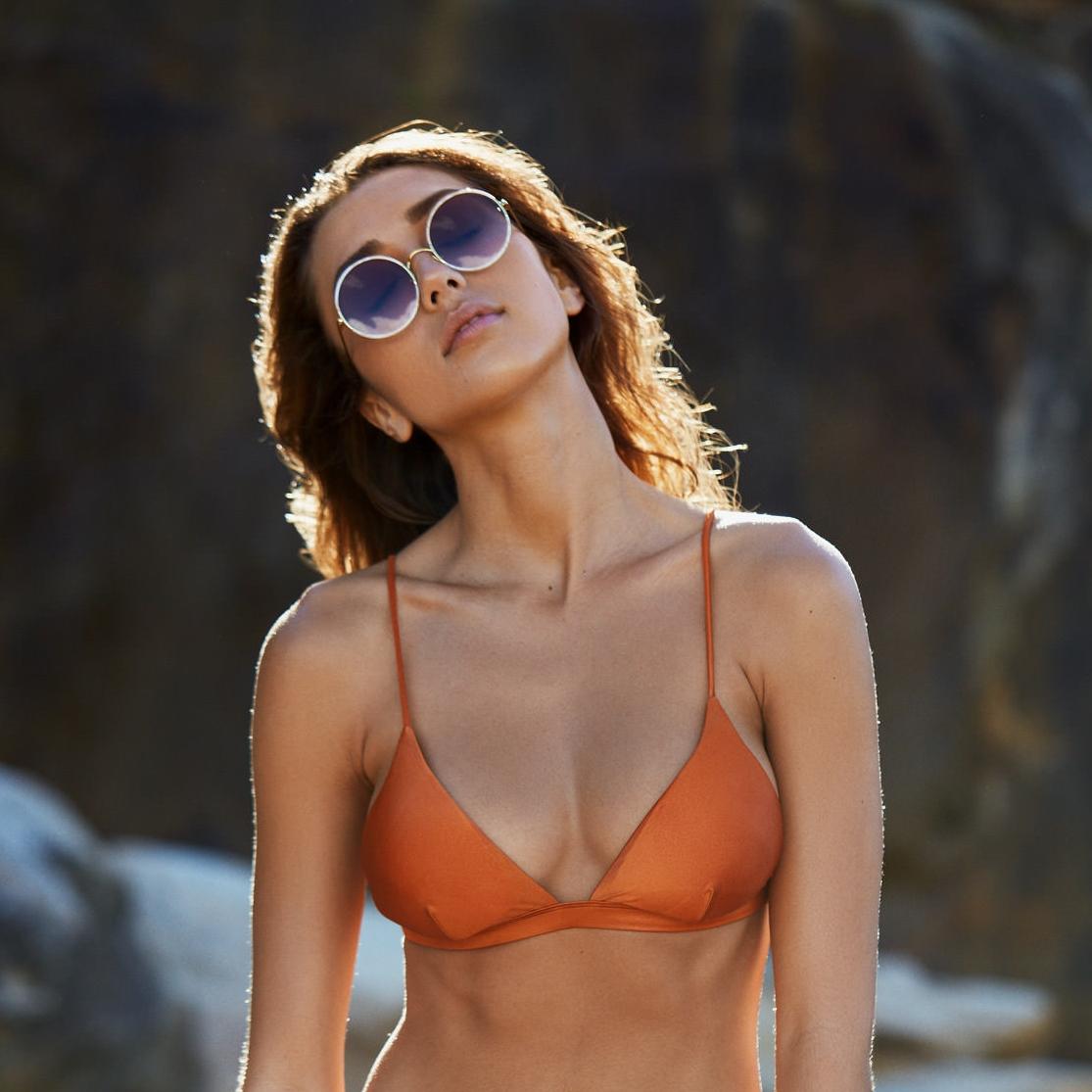 I Am Zazie 'Harper' Luxe Bikini Top | SHOP→