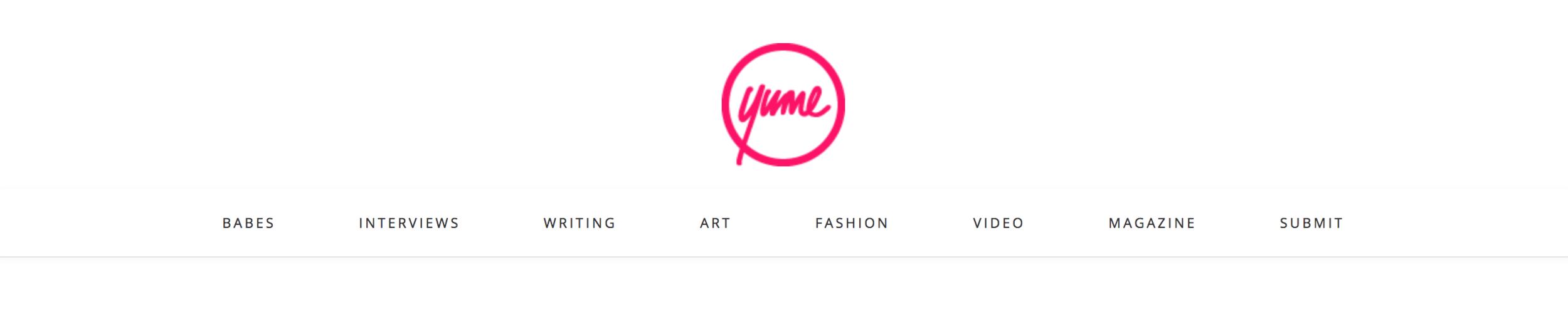 YUME Magazine X I AM ZAZIE Swimwear feature December 2017