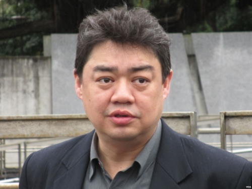 Picture of Wu'er Kaixi, provided by Voice of America