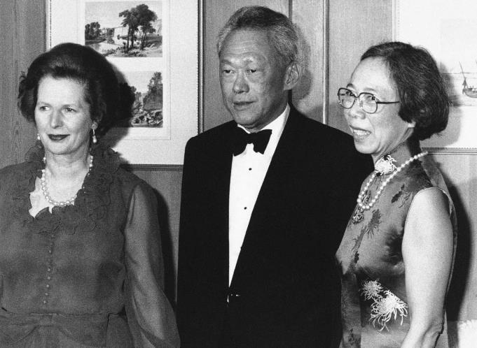 Lee Kuan Yew Met with Thatcher