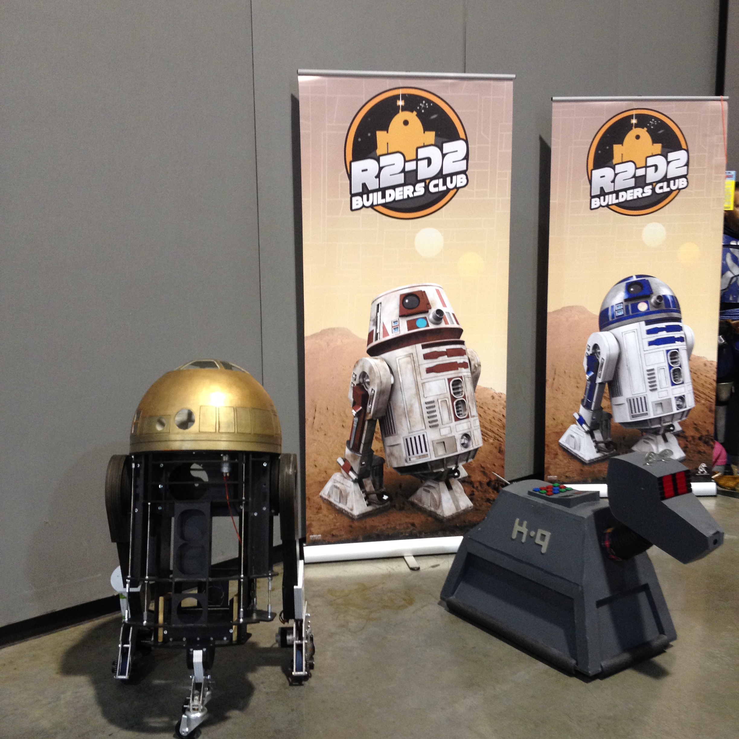 Real-life R2D2
