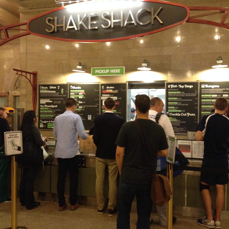 Shake Shack at Grand Central