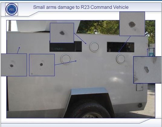 Physical damage to command vehicle - www.freeraven23.com
