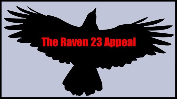 With oral arguments in the appeal scheduled for January 17, 2017, we're happy to report some positive developments in our fight to Free Raven 23.