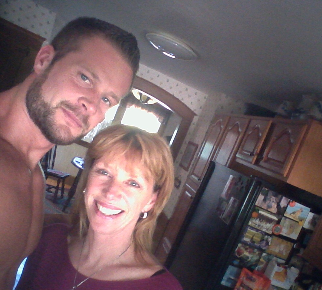 This selfie of us was taken the last time Evan was home, in May 2014.